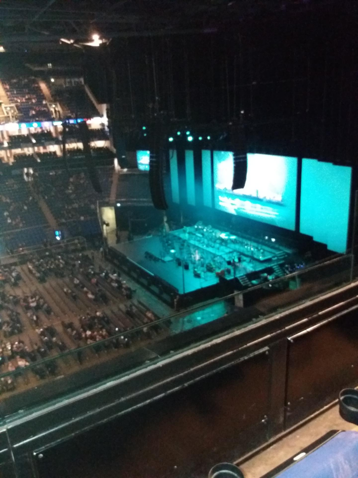 the O2 arena Section 420 Row B Seat 928