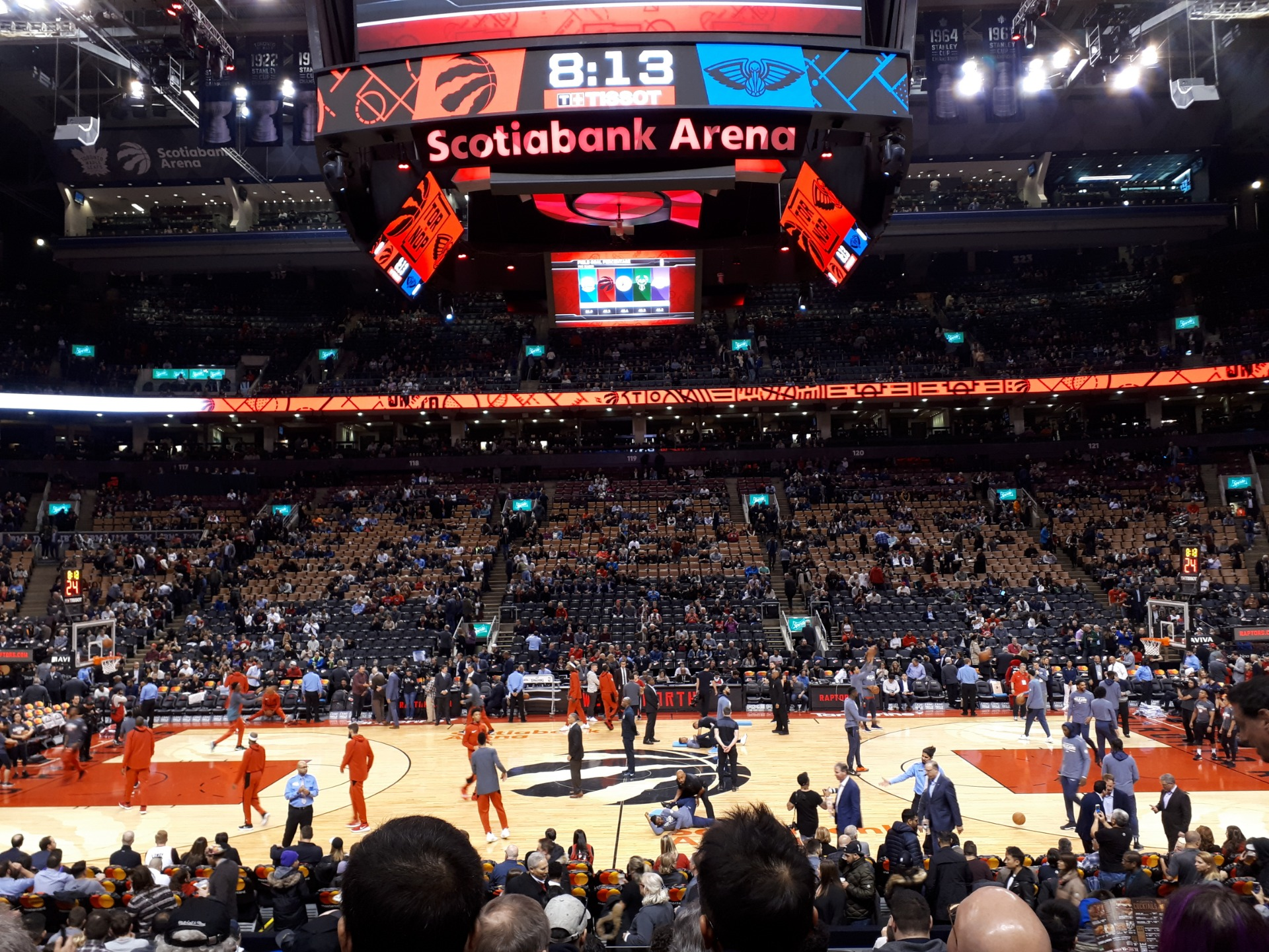 Scotiabank Arena Section 108 Row 15 Seat 11