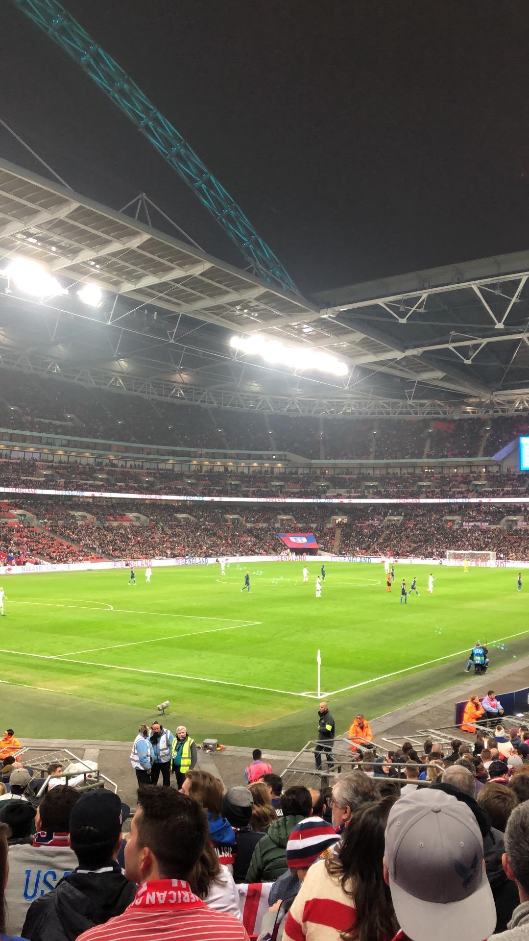 Wembley Stadium Section 130 Row 22 Seat 192