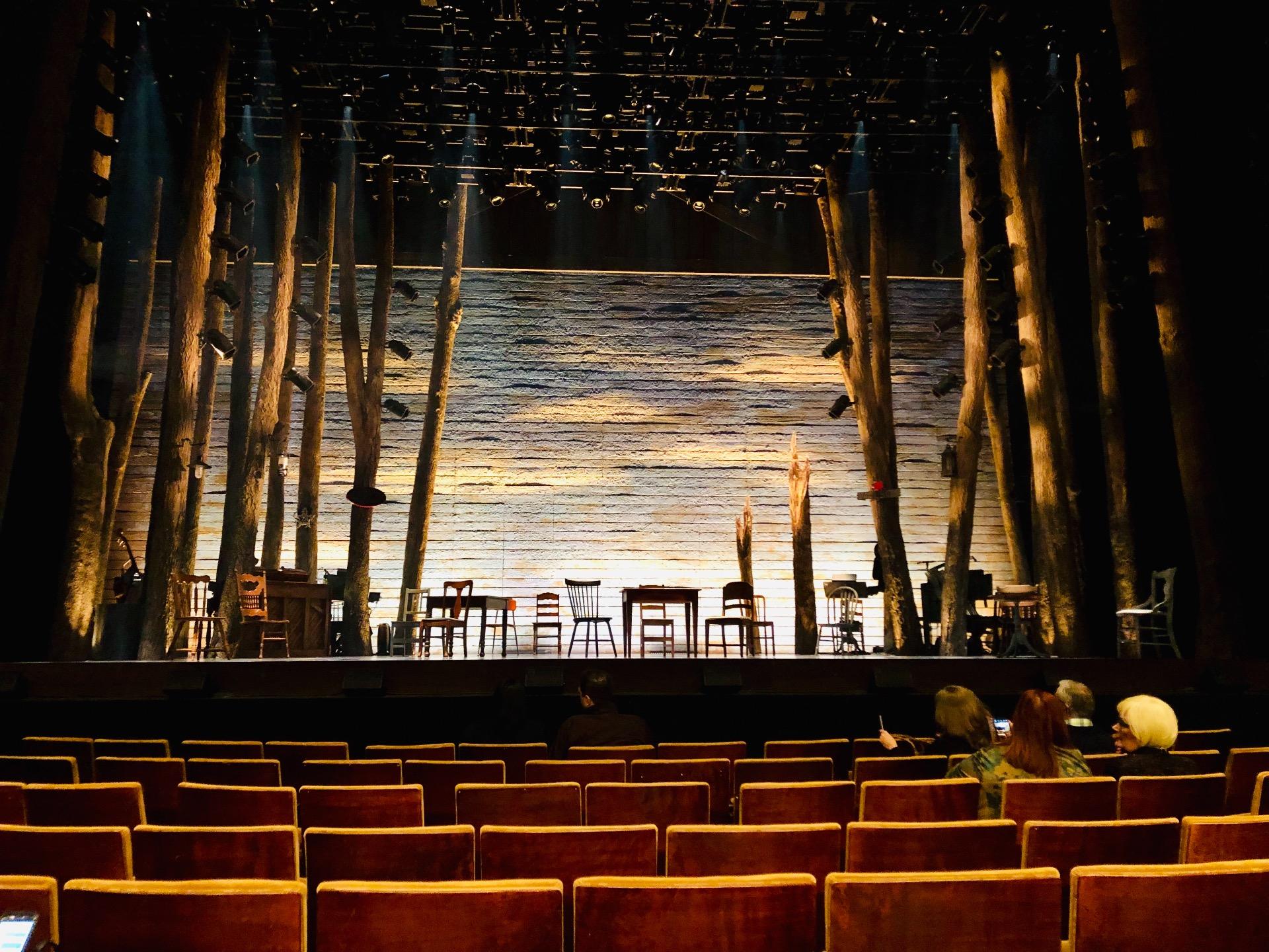 Ahmanson Theatre Section Orchestra Row F Seat 21