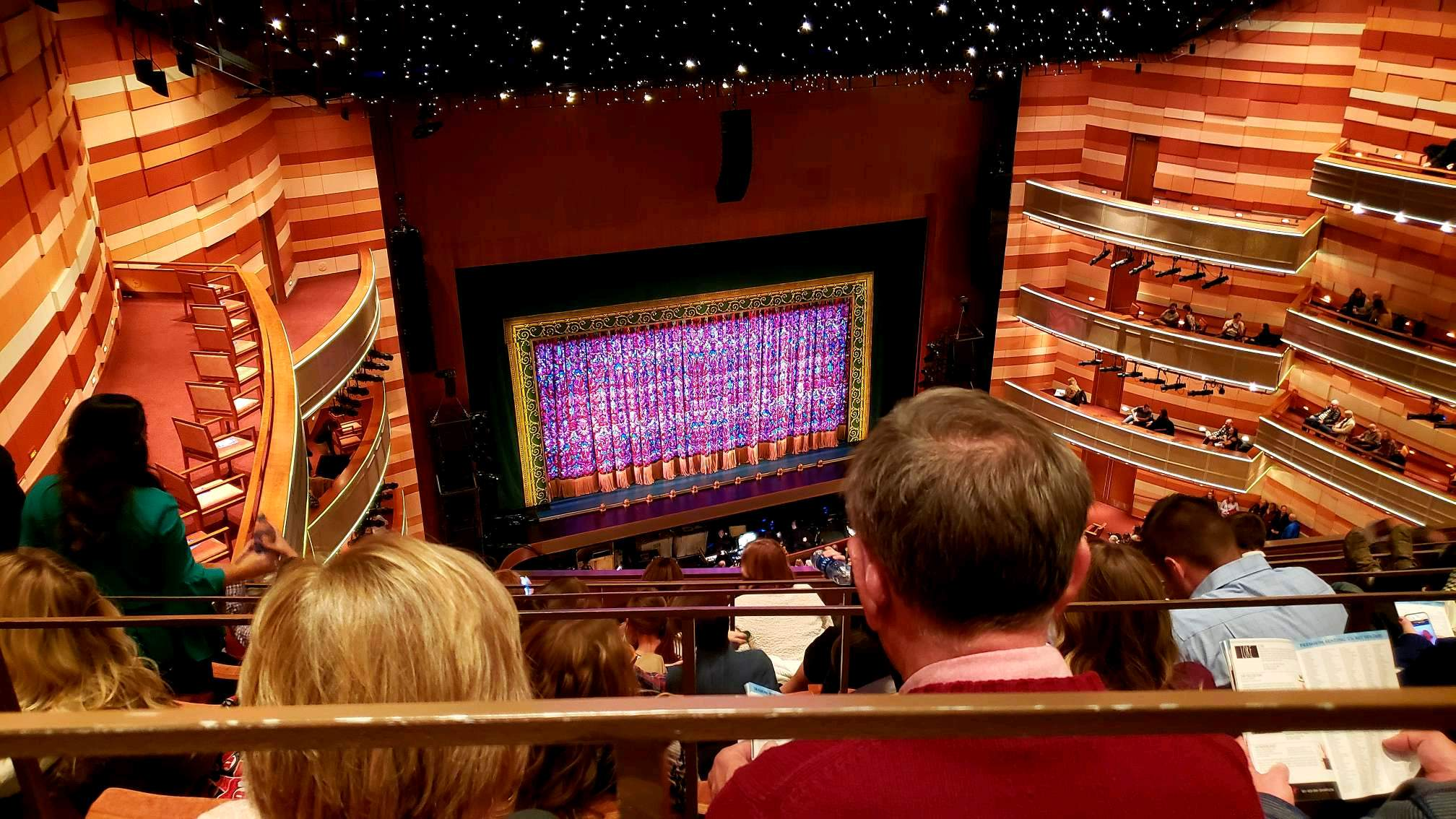 Eccles Theater Section 3TL Row F Seat 48