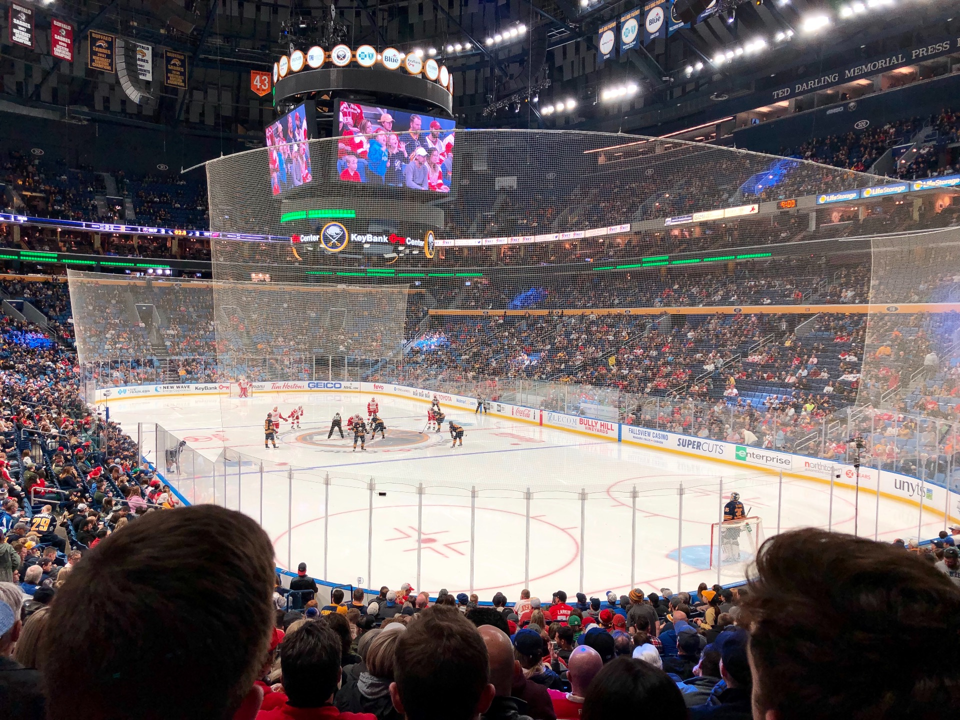 KeyBank Center Section 101 Row 19 Seat 19/20