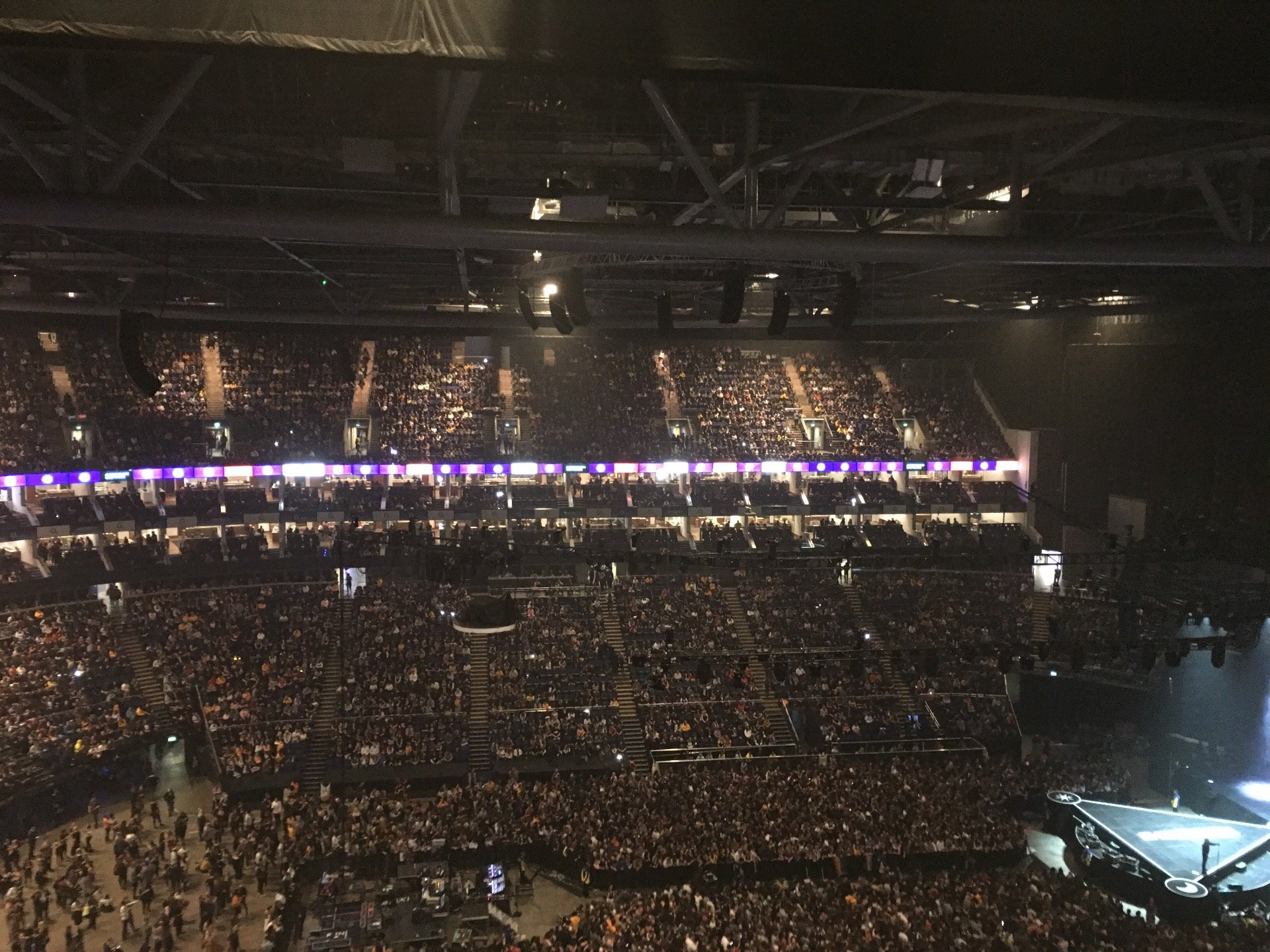 The O2 Arena Section 419 Row N Seat 899-898