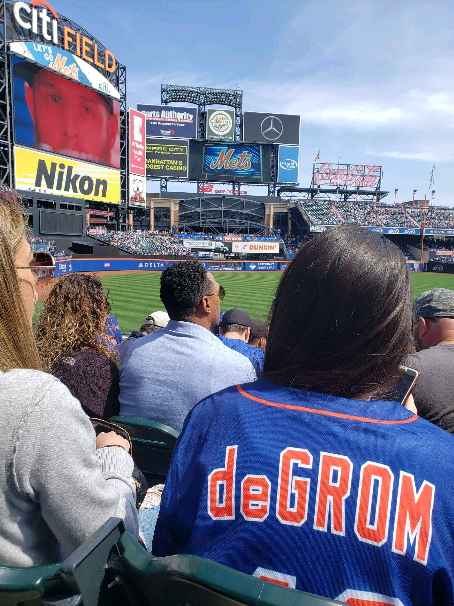 Citi Field Section 129 Row 21 Seat 19