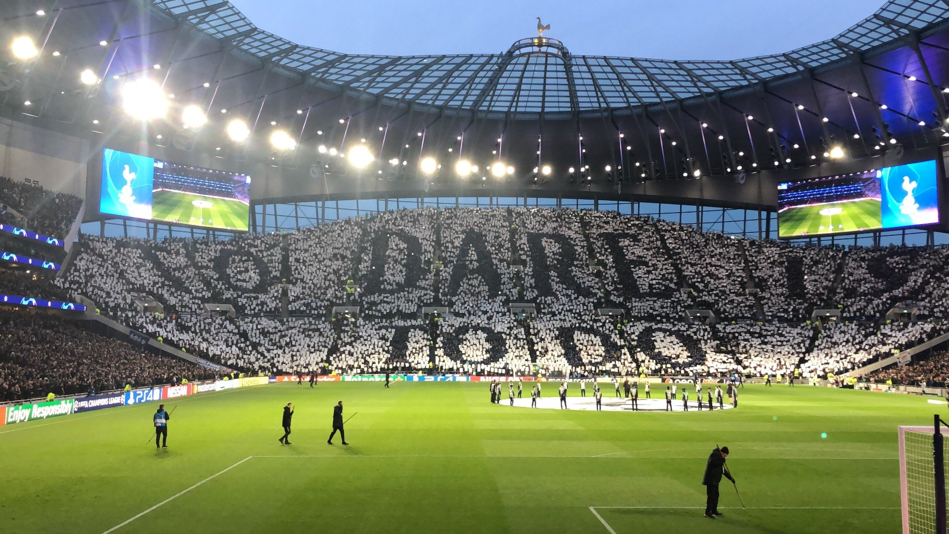 Tottenham Hotspur Stadium Section 113 Row 13 Seat 394 Tottenham Hotspur Vs Manchester City Fc Shared Anonymously