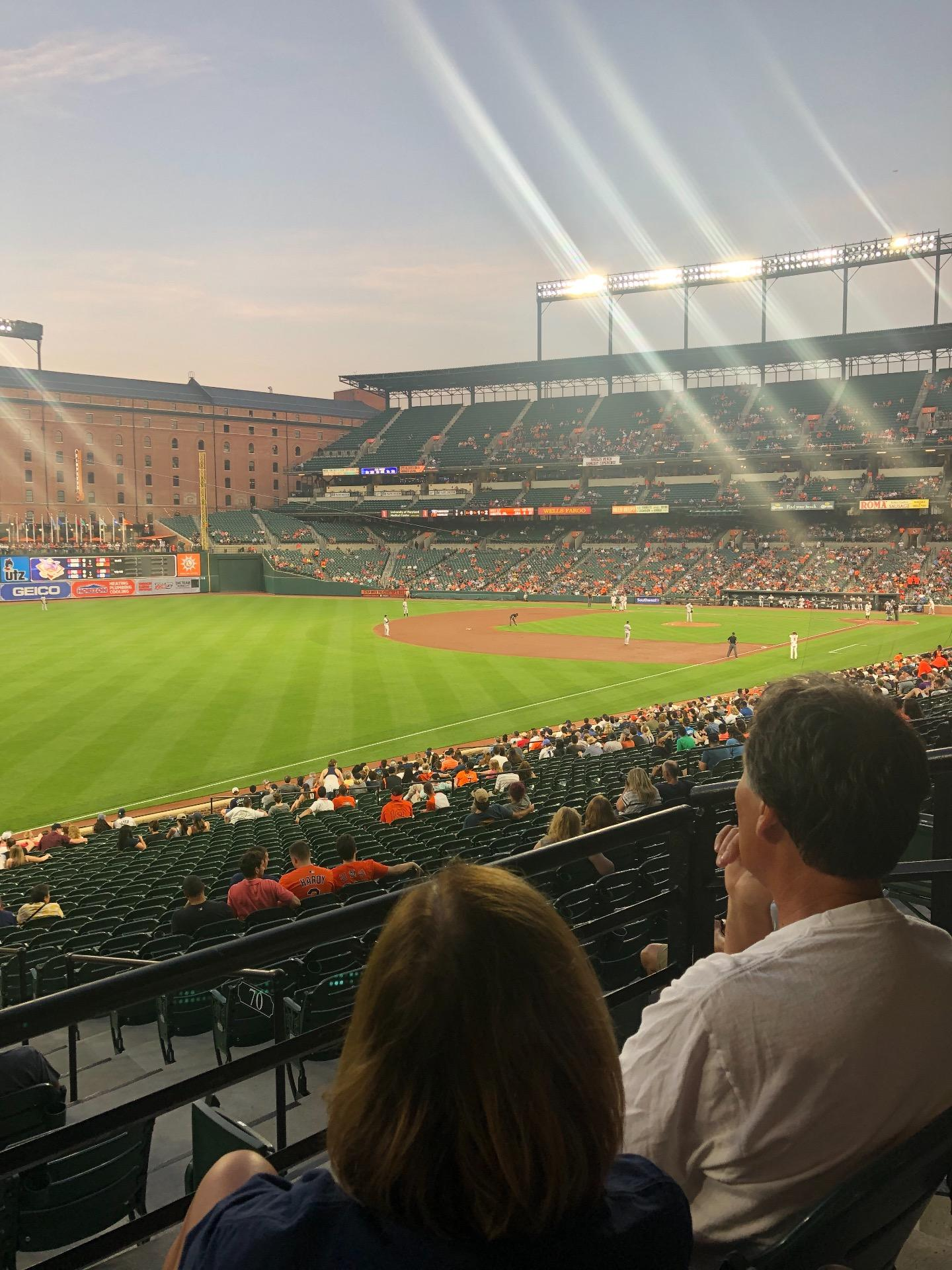 Oriole Park at Camden Yards Section 69 Row 2 Seat 3