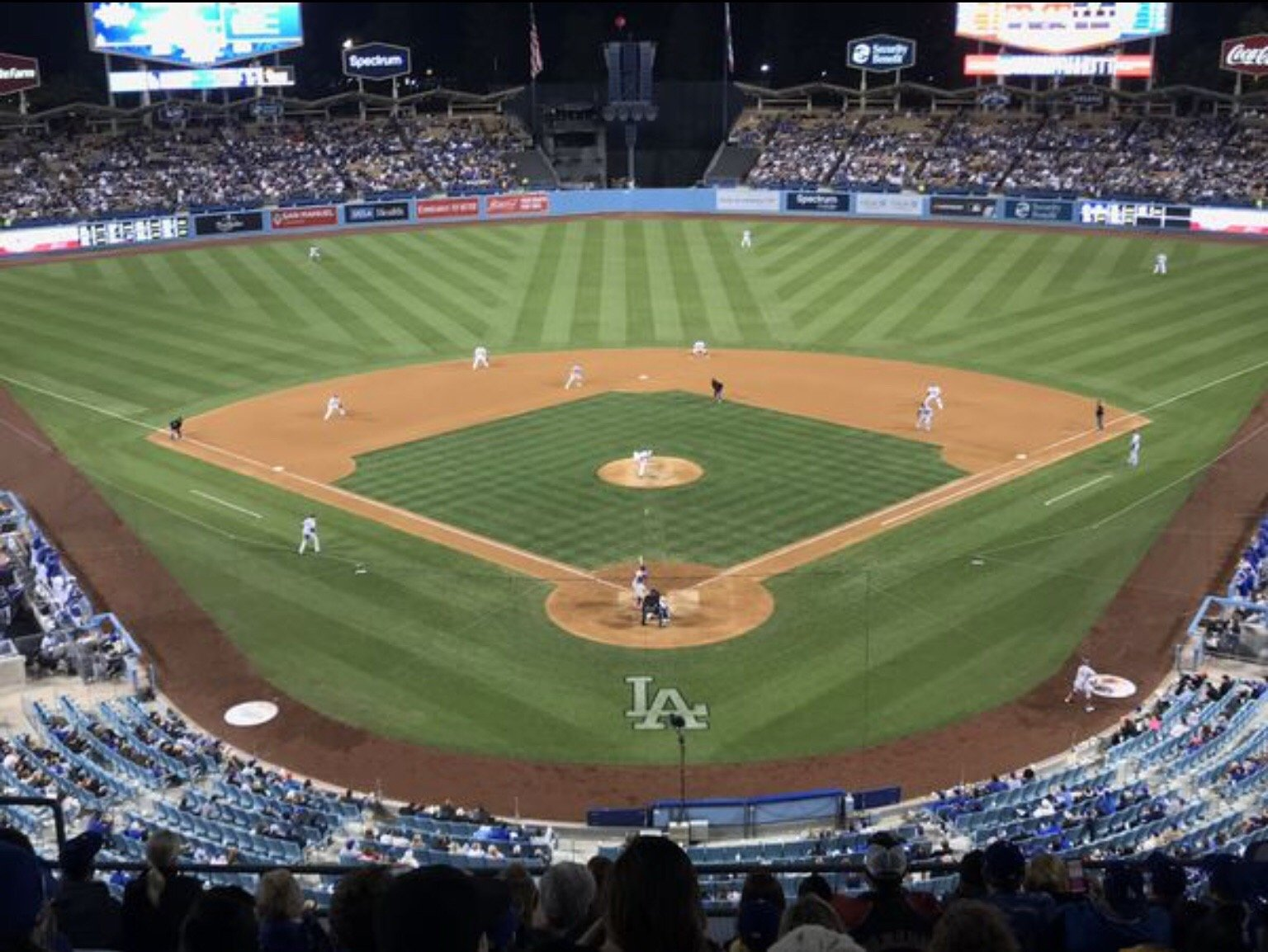 Dodger Stadium Section 1RS Row K  Seat 11