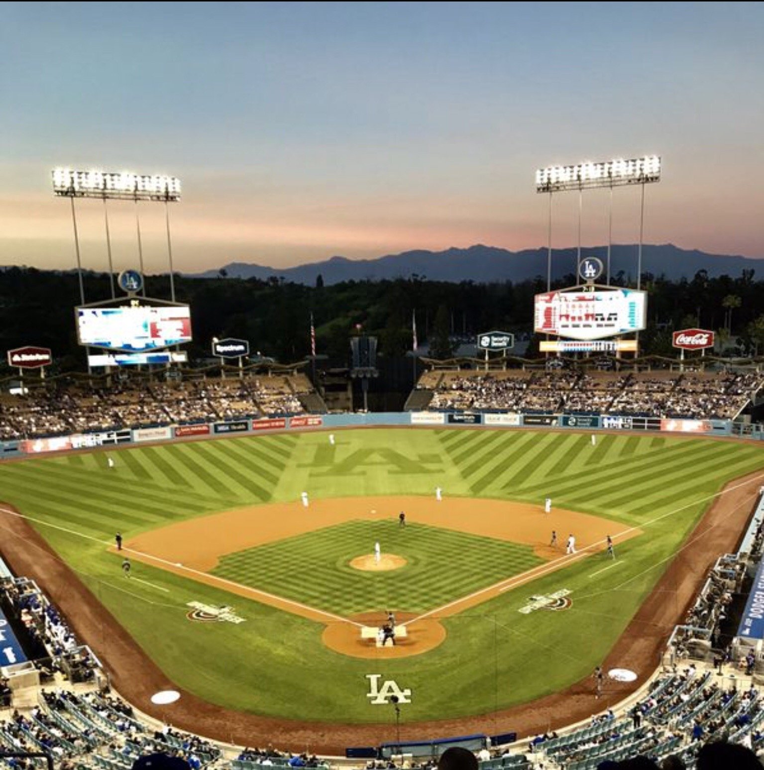 Dodger Stadium  Section 1RS Row K Seat 14