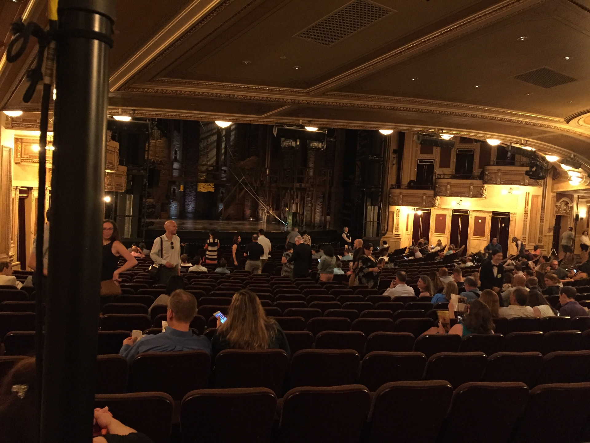 Hippodrome Theatre Section Left Orchestra Row AA Seat 27