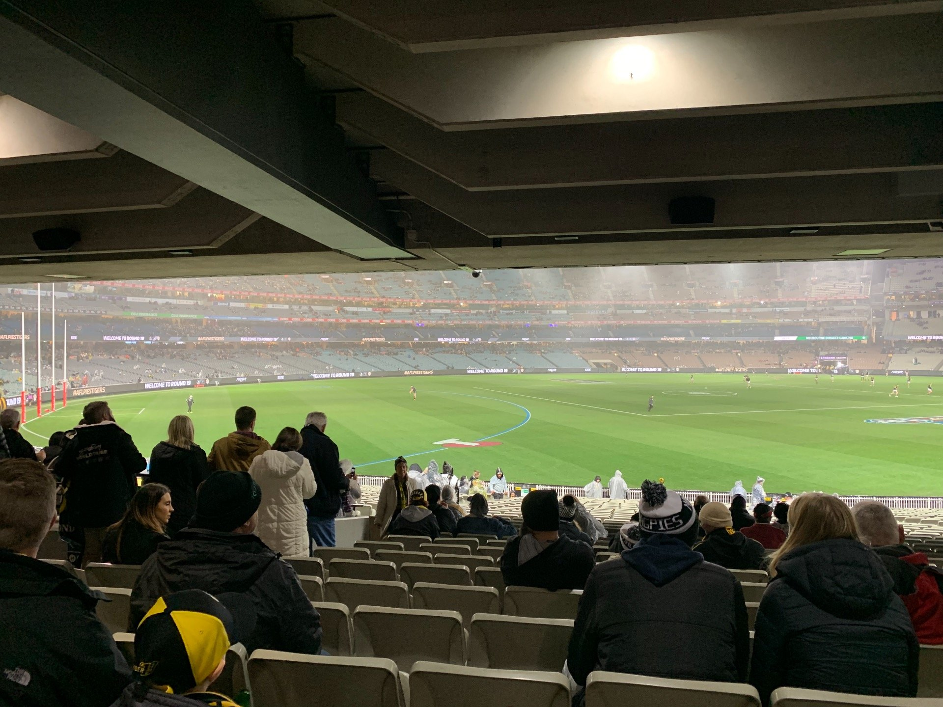 Melbourne Cricket Ground Section M42 Row Kk Seat 11