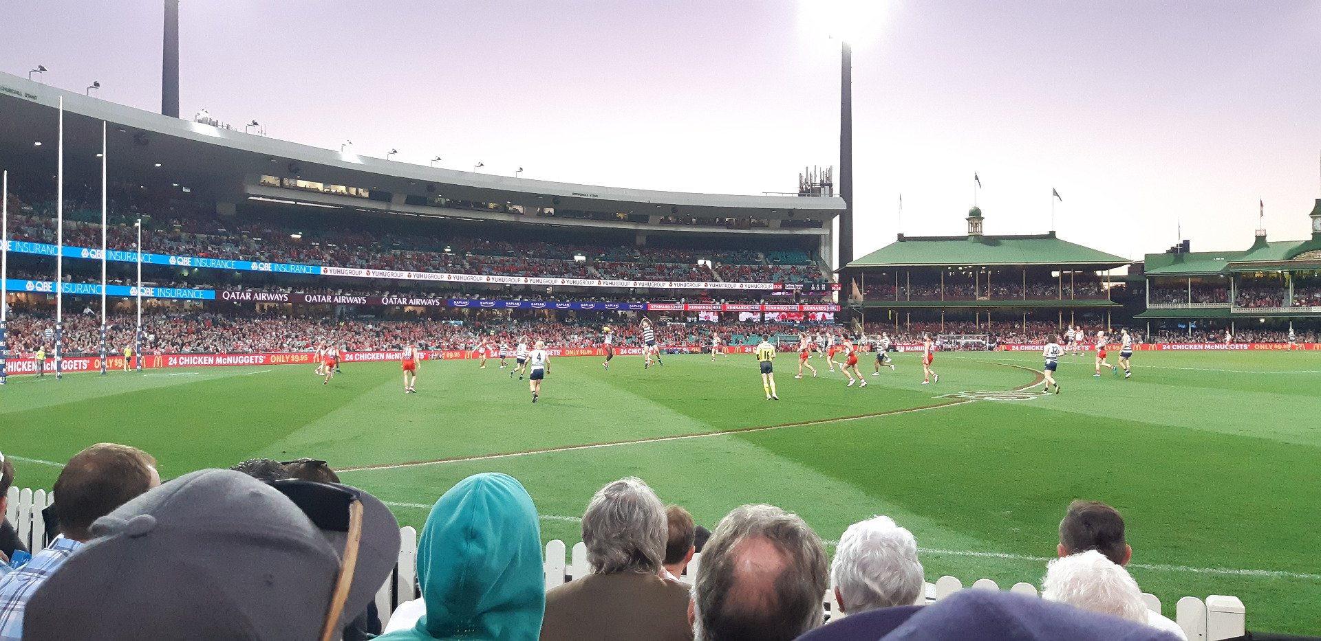 Sydney Cricket Ground Section 12 Row E Seat 1