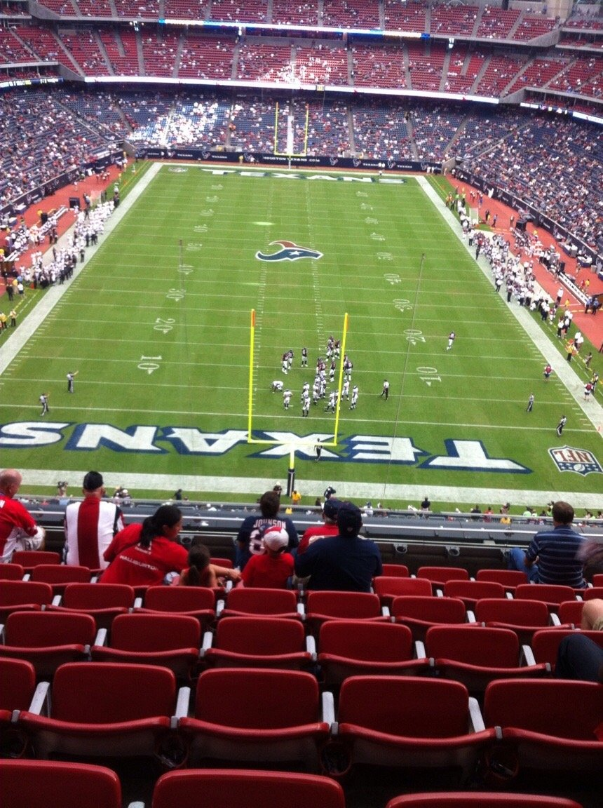 NRG Stadium Section 521 Row H