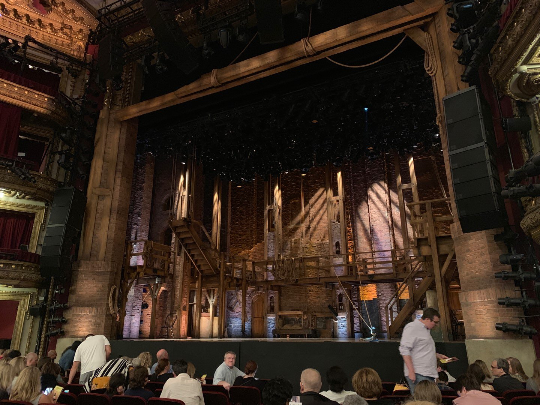 CIBC Theatre Section Orchestra R Row L Seat 8