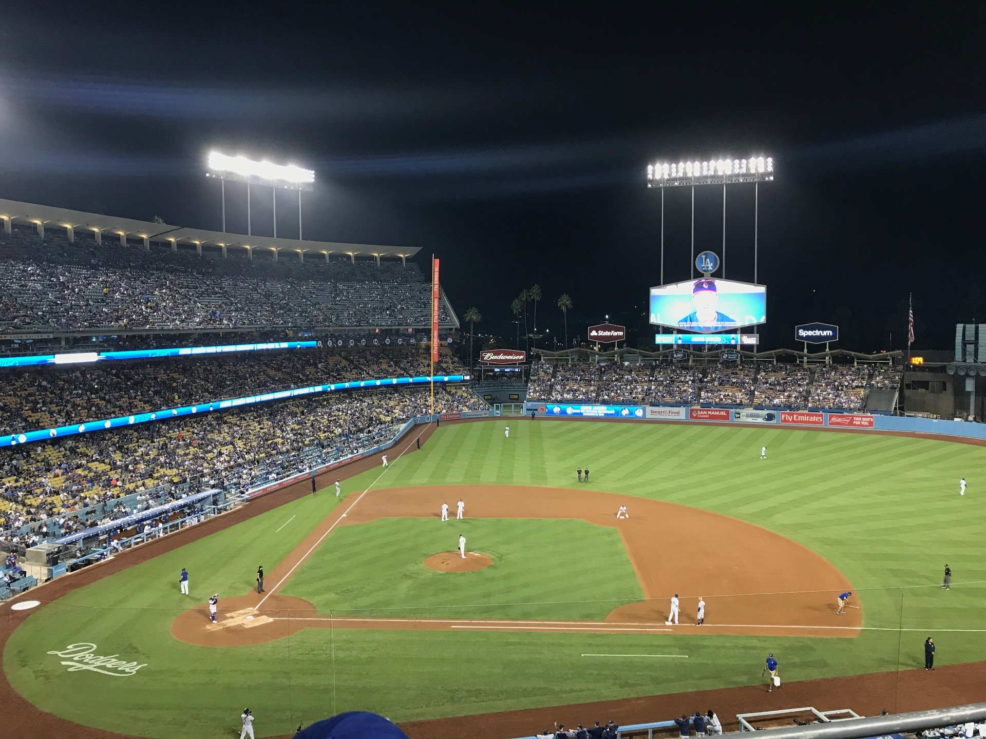 Dodger Stadium Section 16RS Row C Seat 3