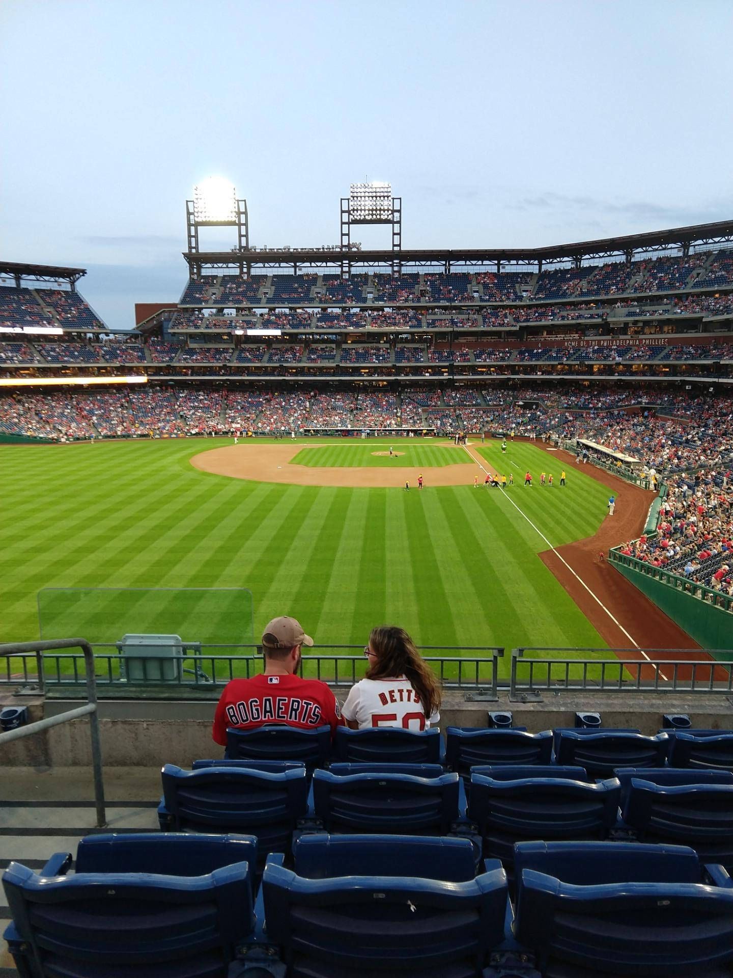 Citizens Bank Park Section 241 Row 5 Seat 16