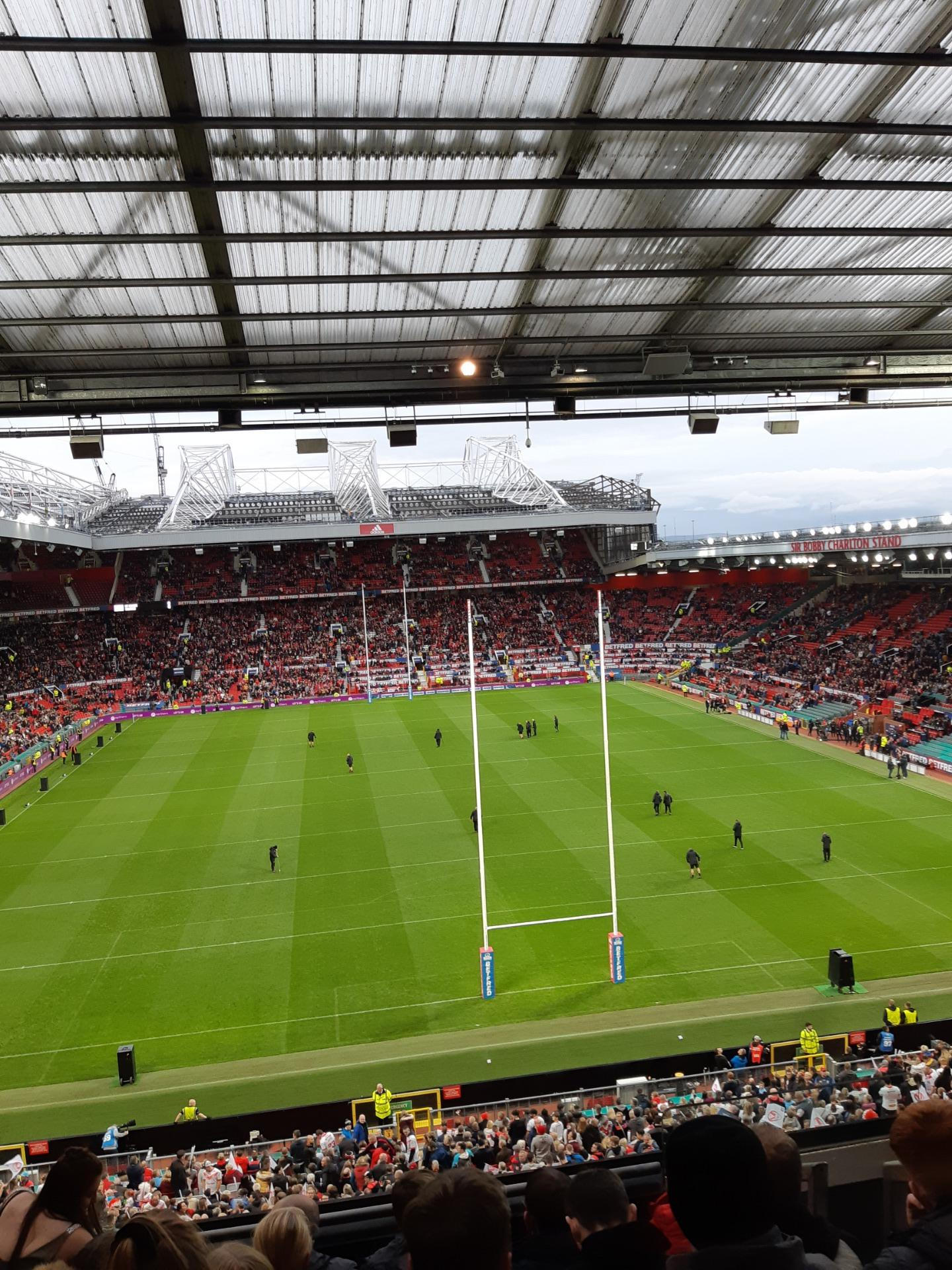 Old Trafford Section W3103 Row 7 Seat 107