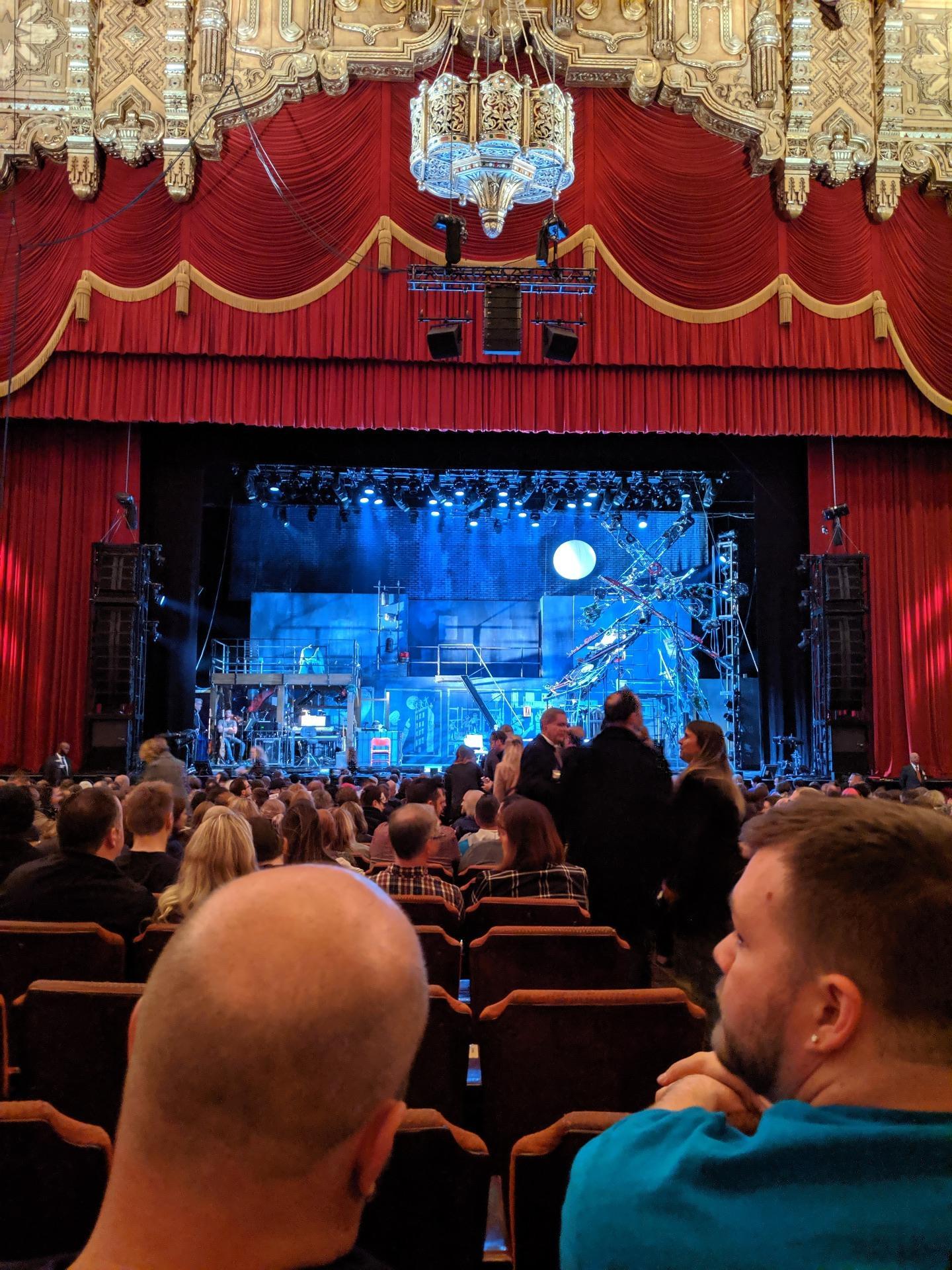Fox Theatre (Detroit) Section F3 Row T Seat 314