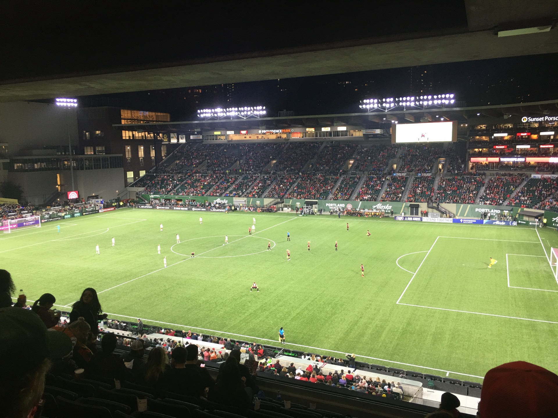 Providence Park Section TR Row H Seat 10