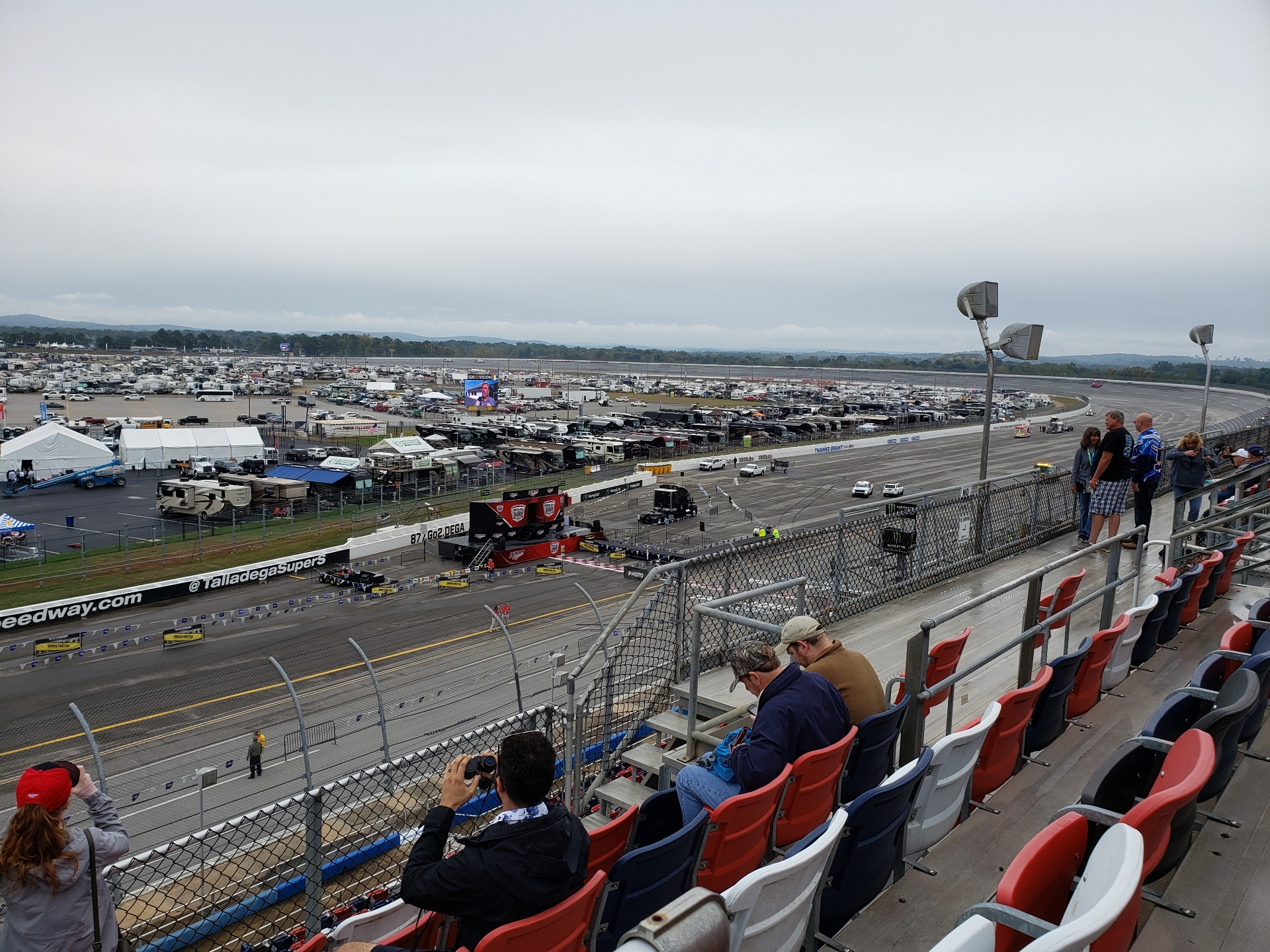 Talladega Superspeedway Section F Row 31 Seat 2