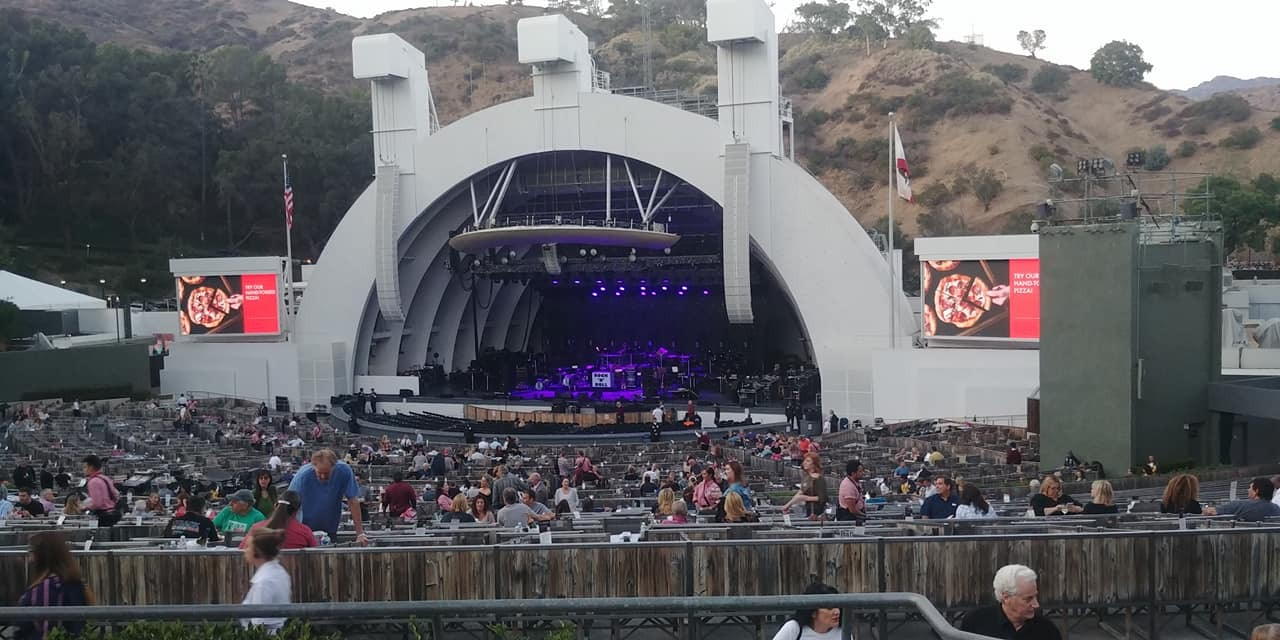 Hollywood Bowl Section F1 Row 5 Seat 5