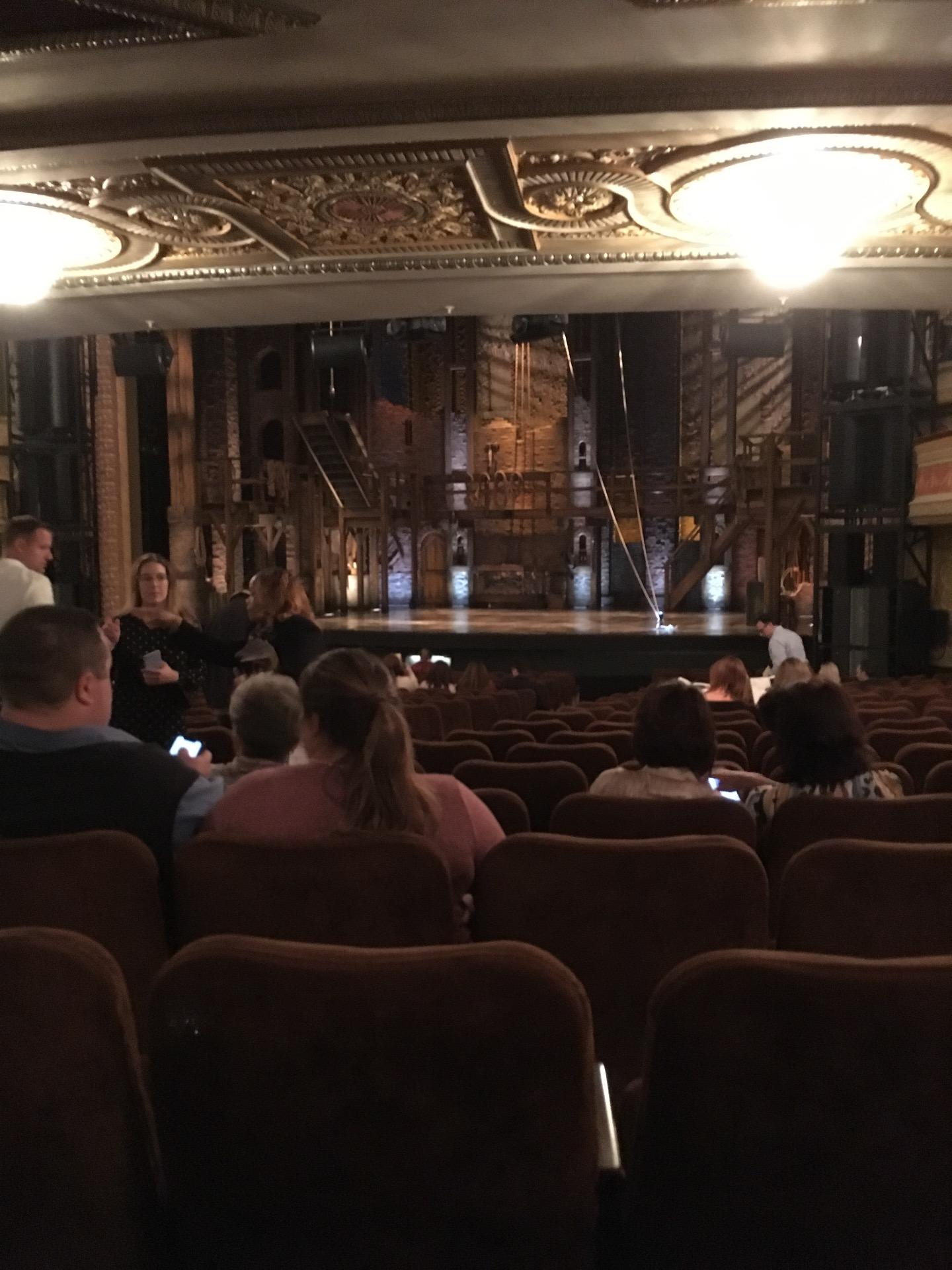 Forrest Theatre Section Orchestra D Row W Seat 8