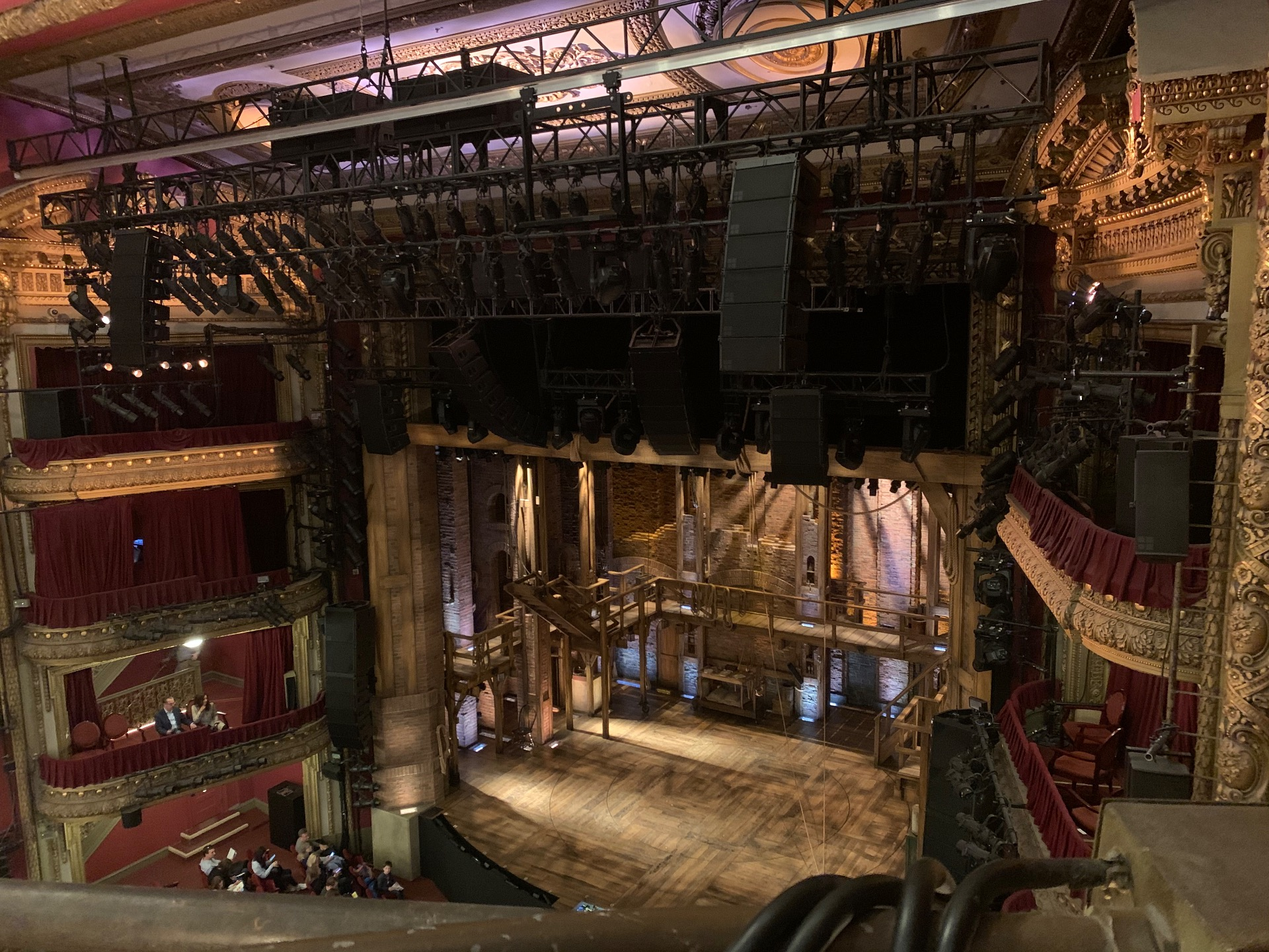 CIBC Theatre Section Balcony R Row A Seat 12