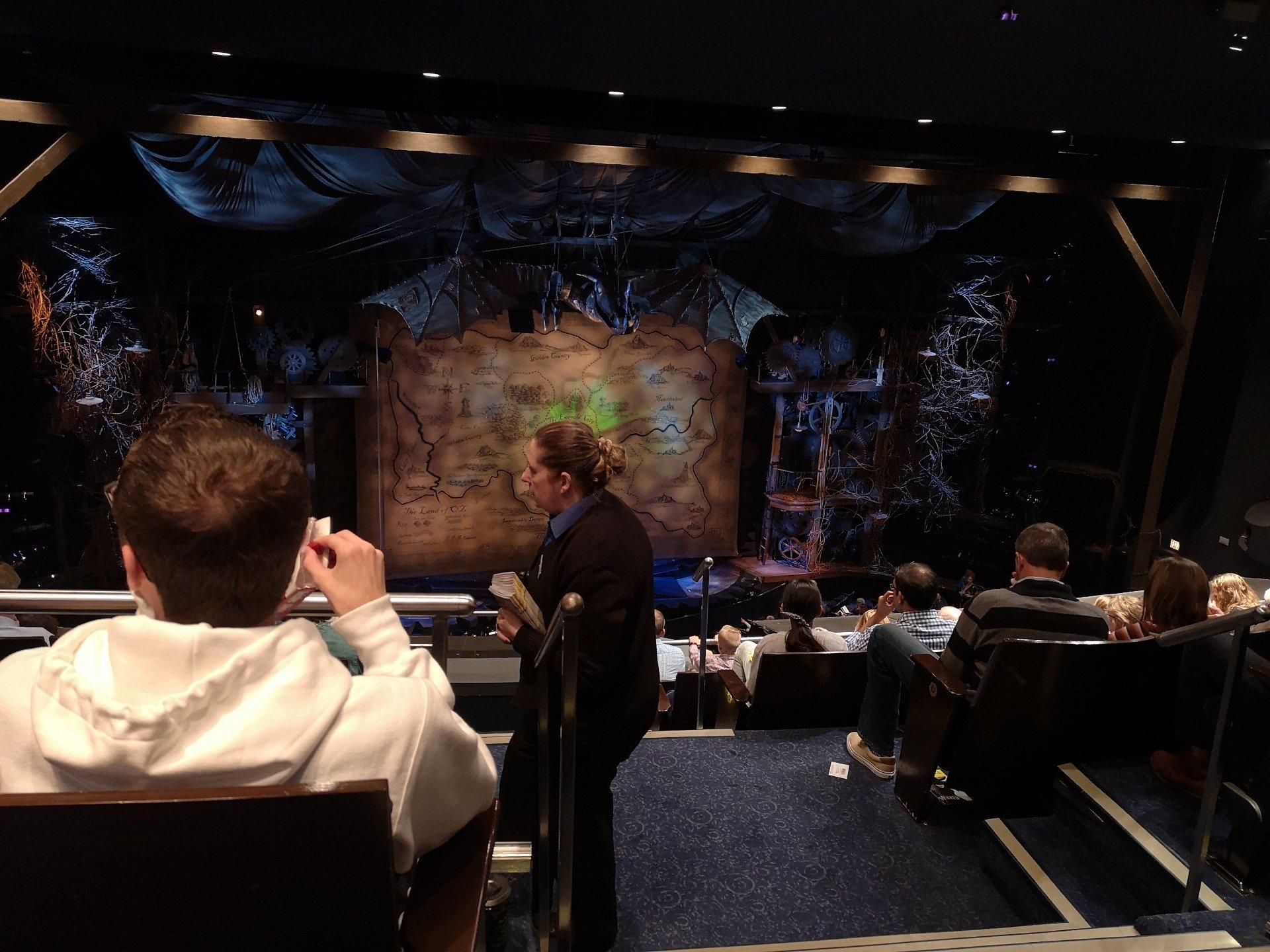 Gershwin Theatre Section Rear Mezzanine L Row G Seat 1