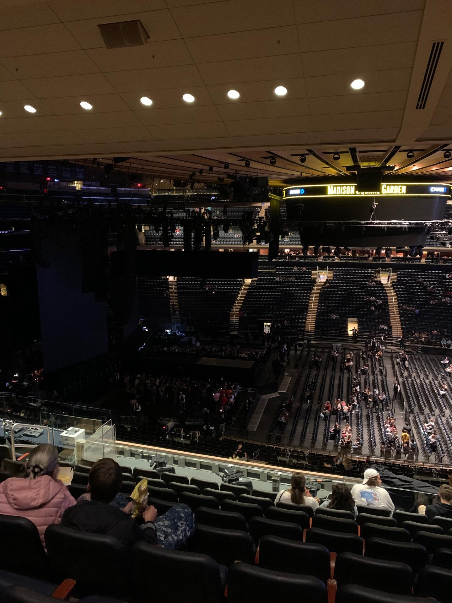 Madison Square Garden Section 224 Row 11 Seat 7