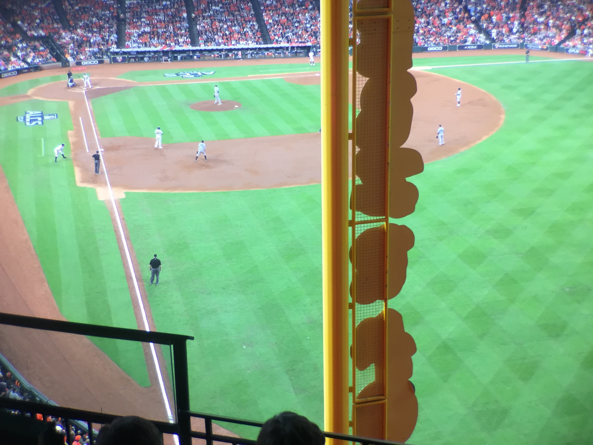 Minute Maid Park Section 337 Row 4 Seat 4