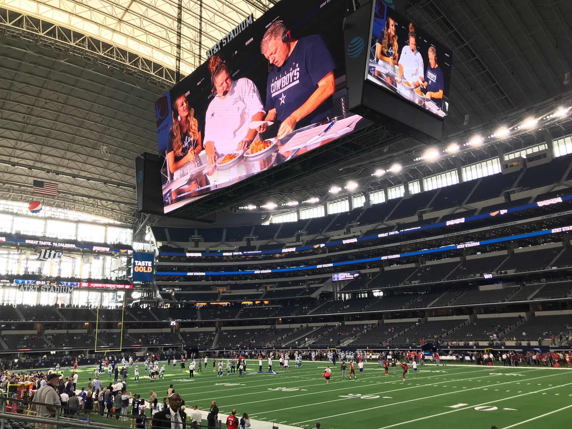 AT&T Stadium Section 103 Row 8 Seat 9