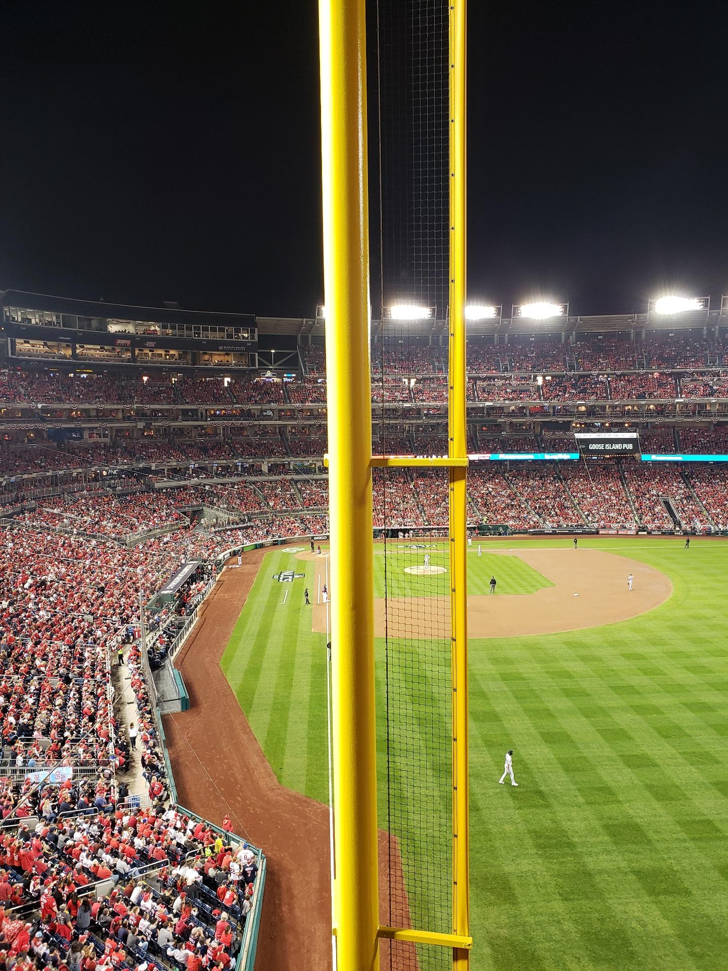 Nationals Park Section 234 Row A Seat 14