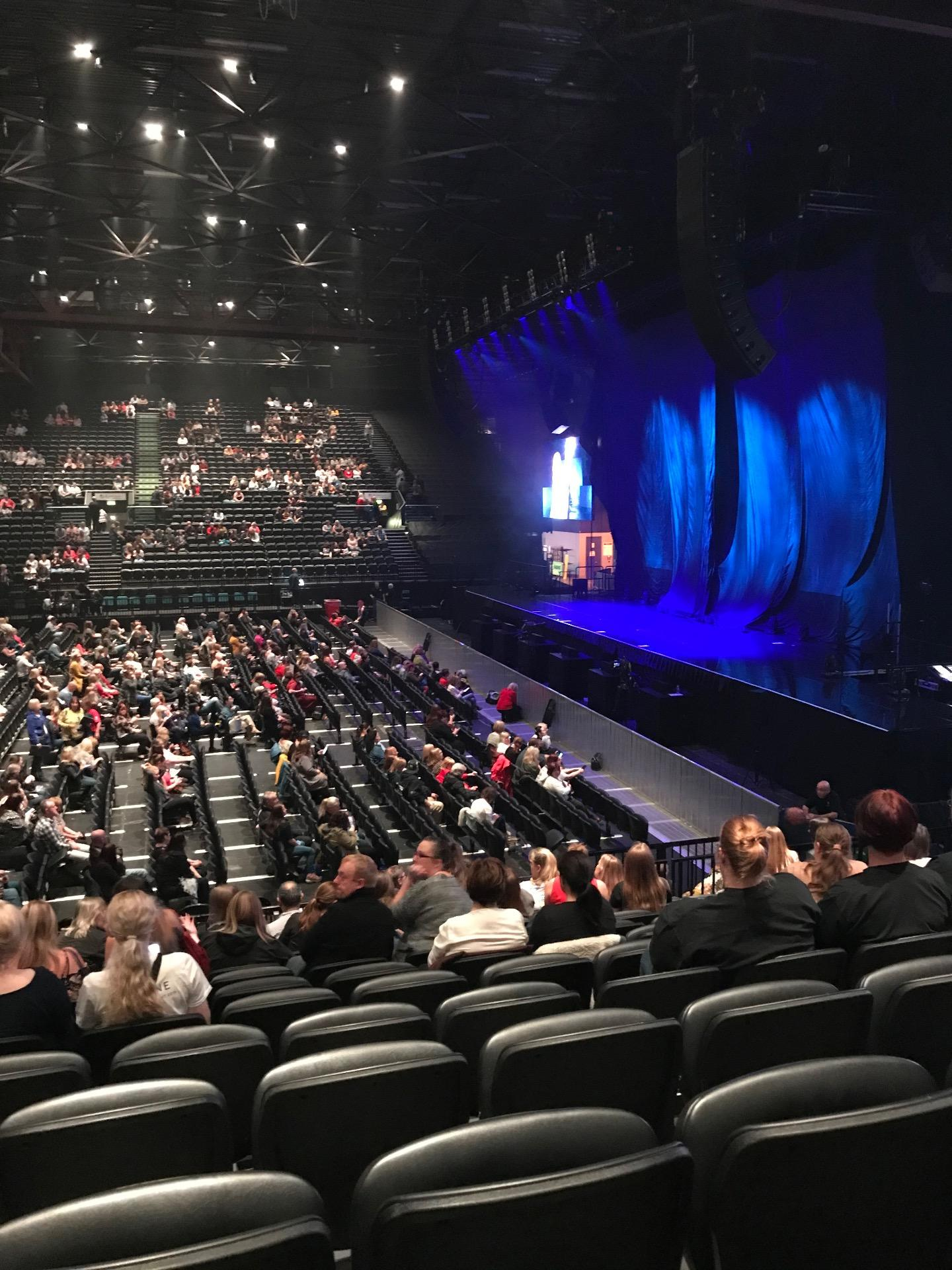 Resorts World Arena Section Block A Row L Seat 41
