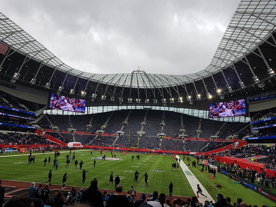 Tottenham Hotspur Stadium Section 111 Row 18 Seat 326