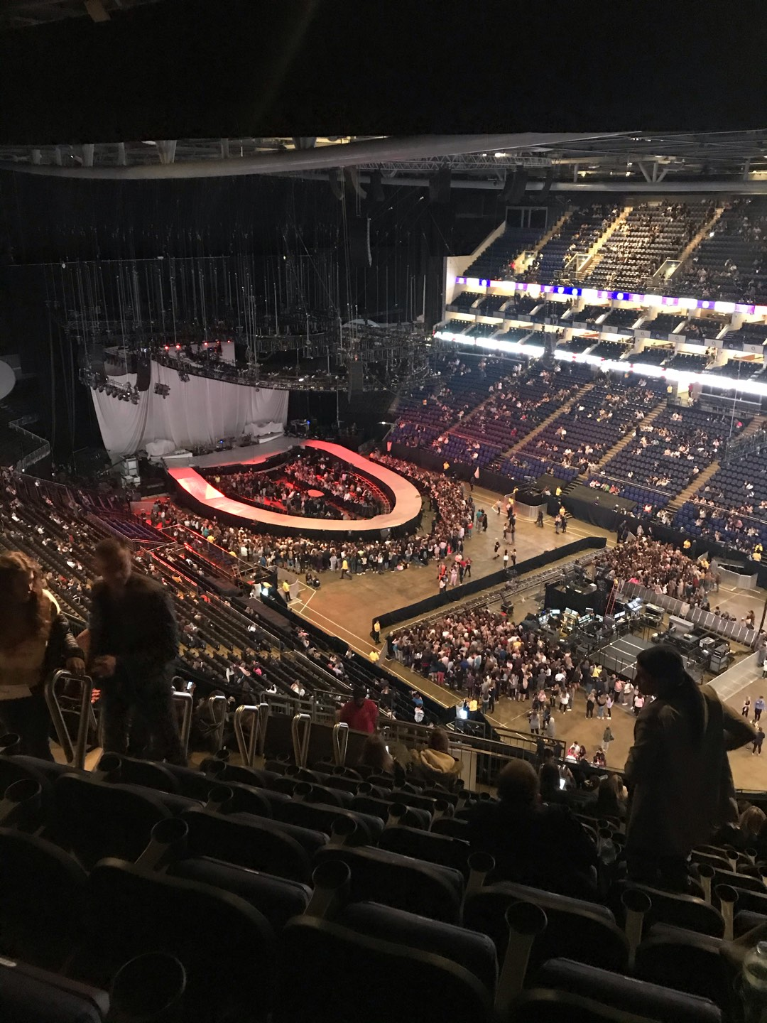 The O2 Arena Section 407 Row R Seat 618