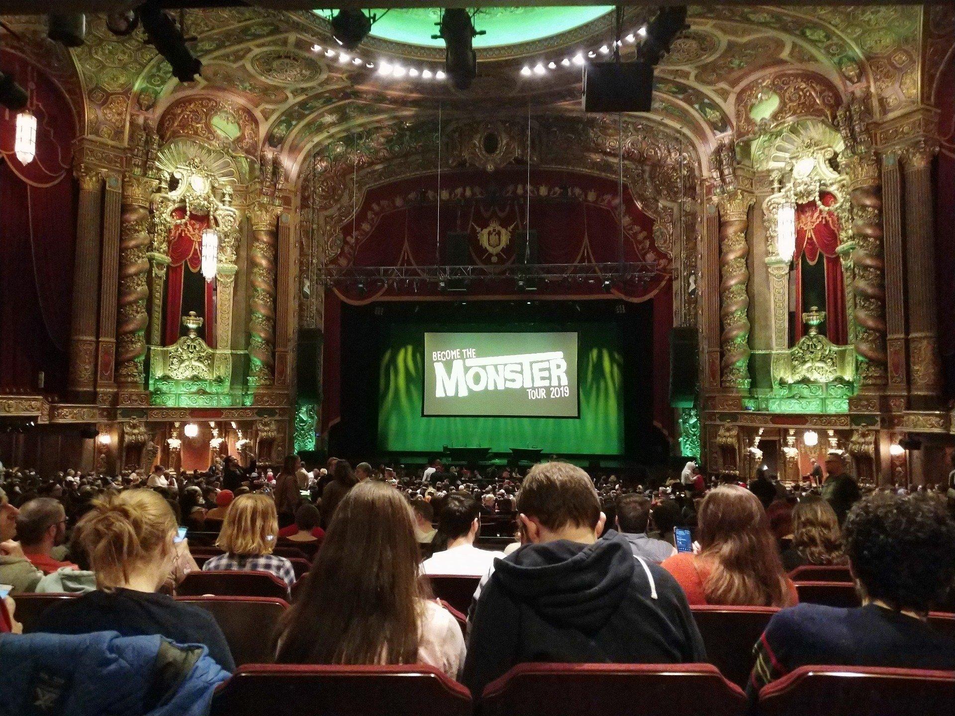 Kings Theatre (Brooklyn) Section 6 Row II Seat 108