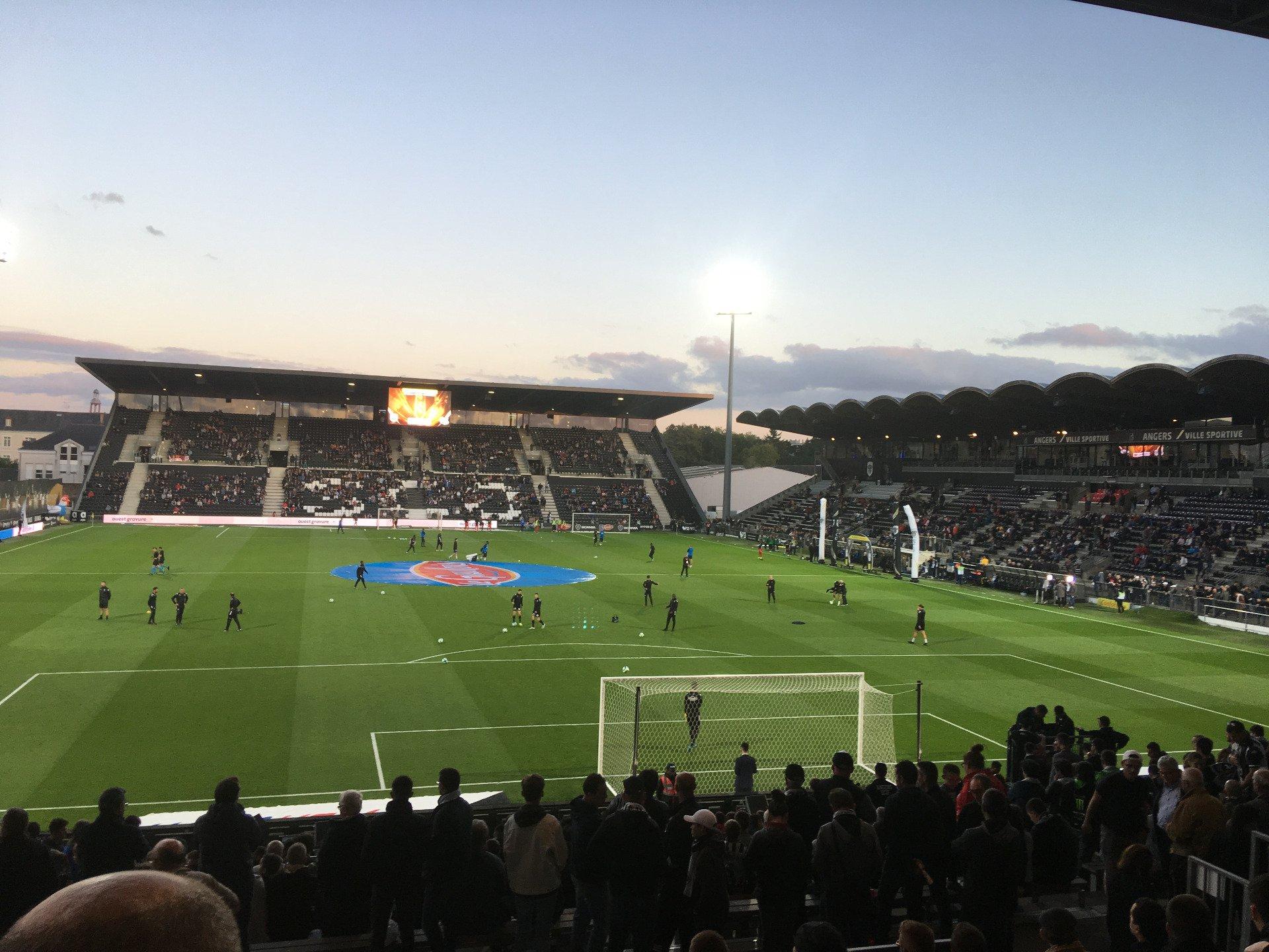 Stade Raymond Kopa Section Coubertin E Row U Seat 124