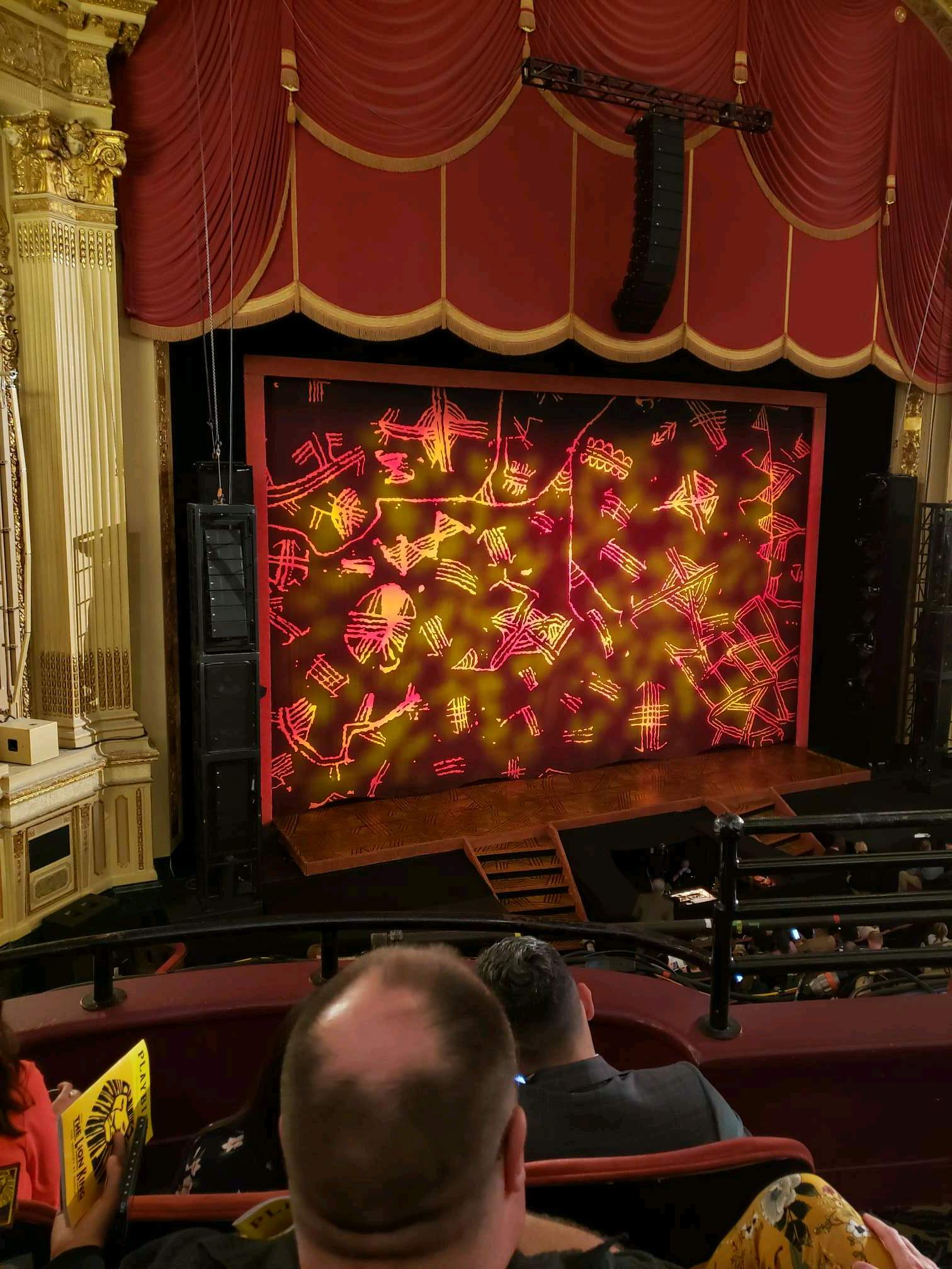 Citizens Bank Opera House Section Dress Circle L Row cc Seat 23
