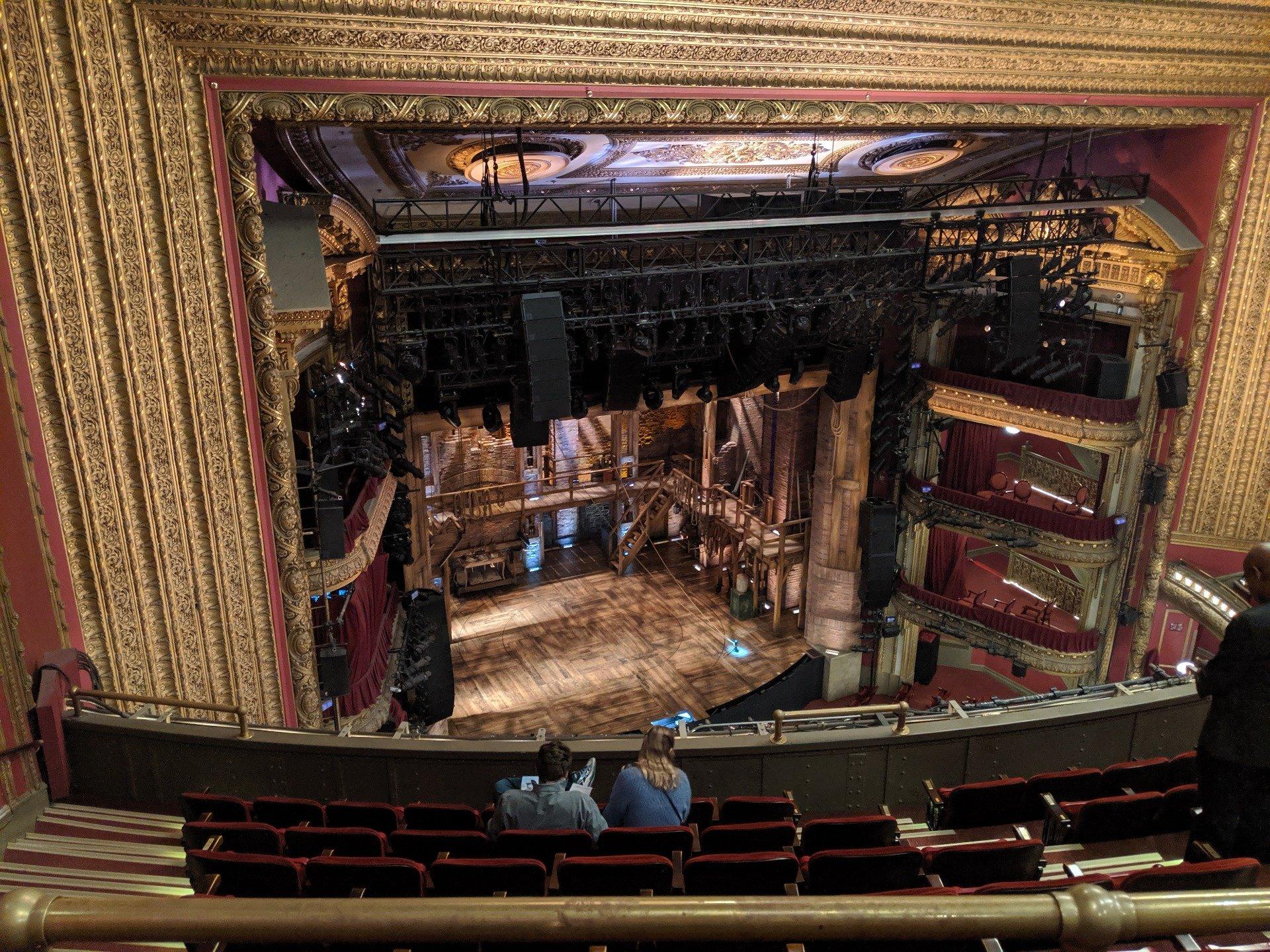 CIBC Theatre Section Balcony L Row H Seat 9