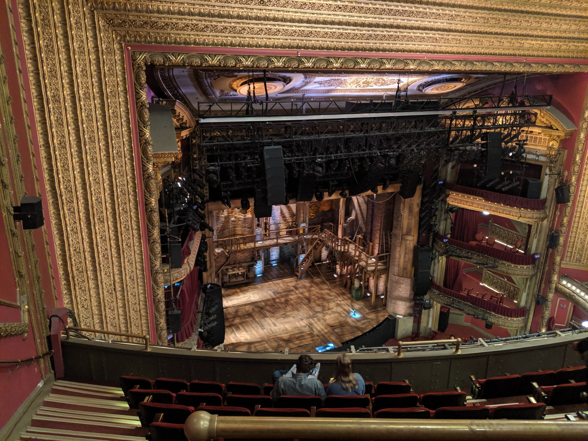 CIBC Theatre Section Balcony L Row H Seat 11