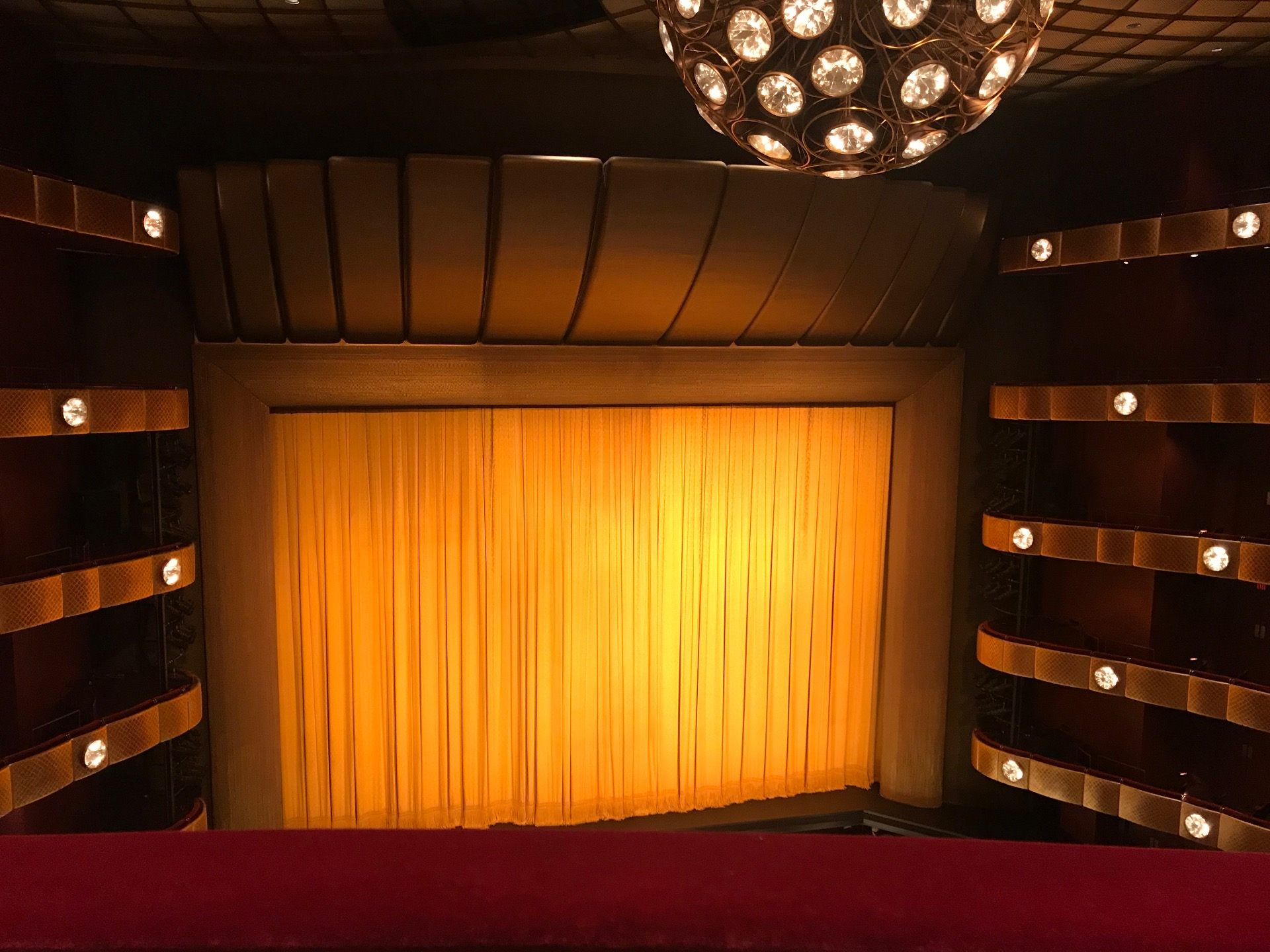 David H. Koch Theater Section Fourth Ring Row A Seat 1