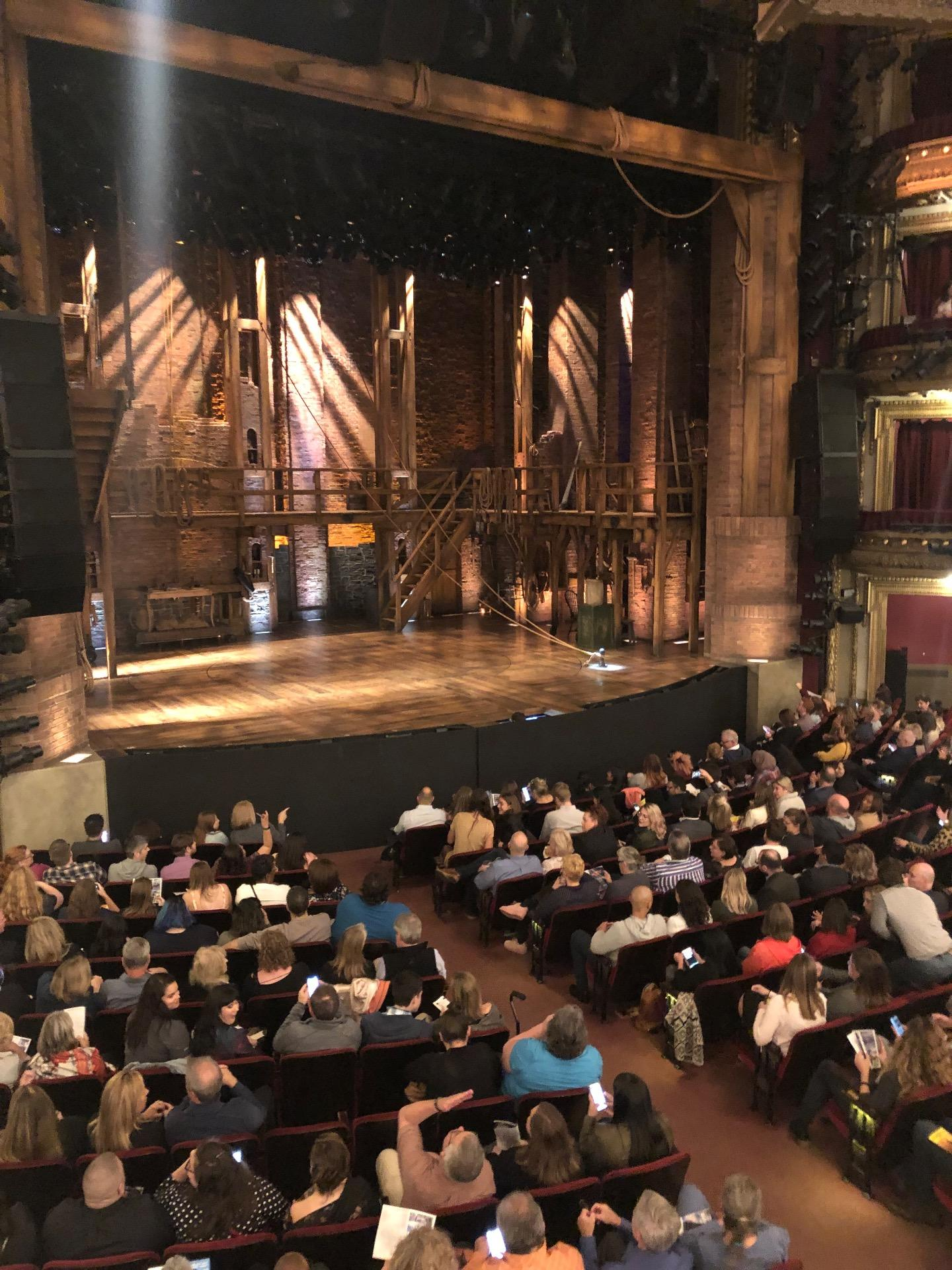 CIBC Theatre Section Dress Circle L Row A Seat 7