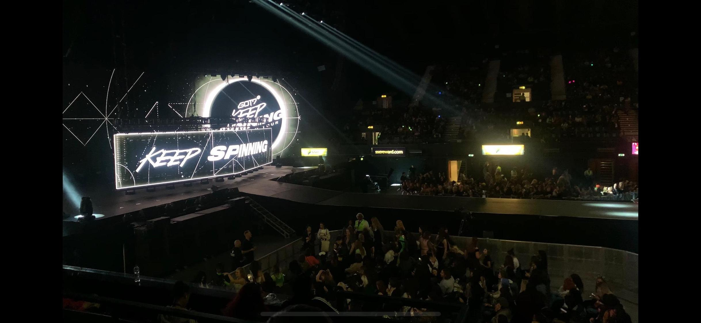 SSE Arena, Wembley Section S8 Row E