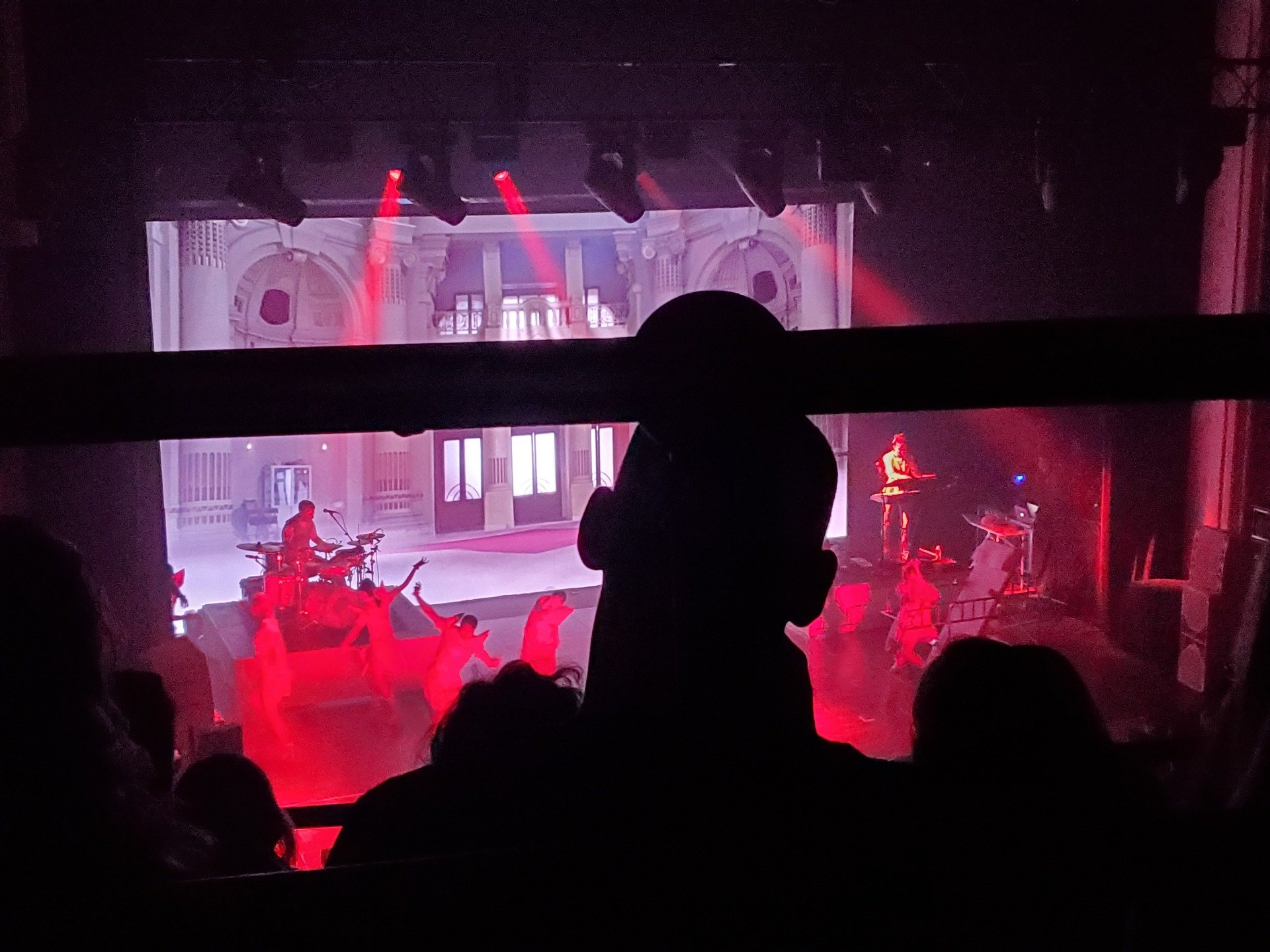 Orpheum Theatre (Boston) Section Balcony L Row D Seat 111