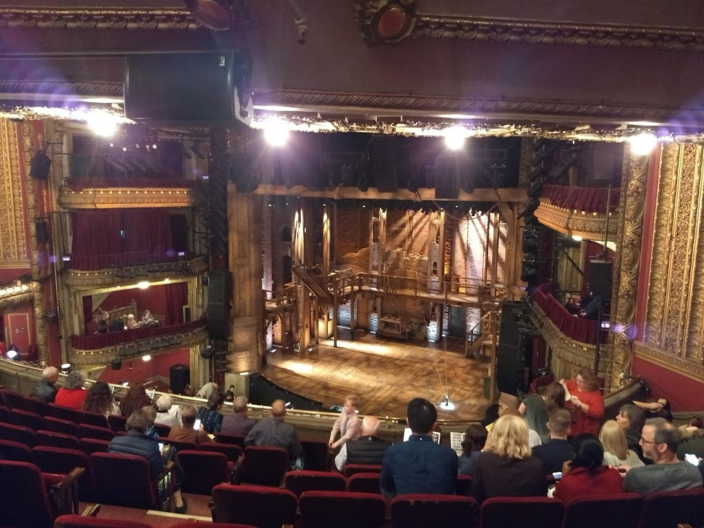 CIBC Theatre Section Mezzanine R Row J Seat 8