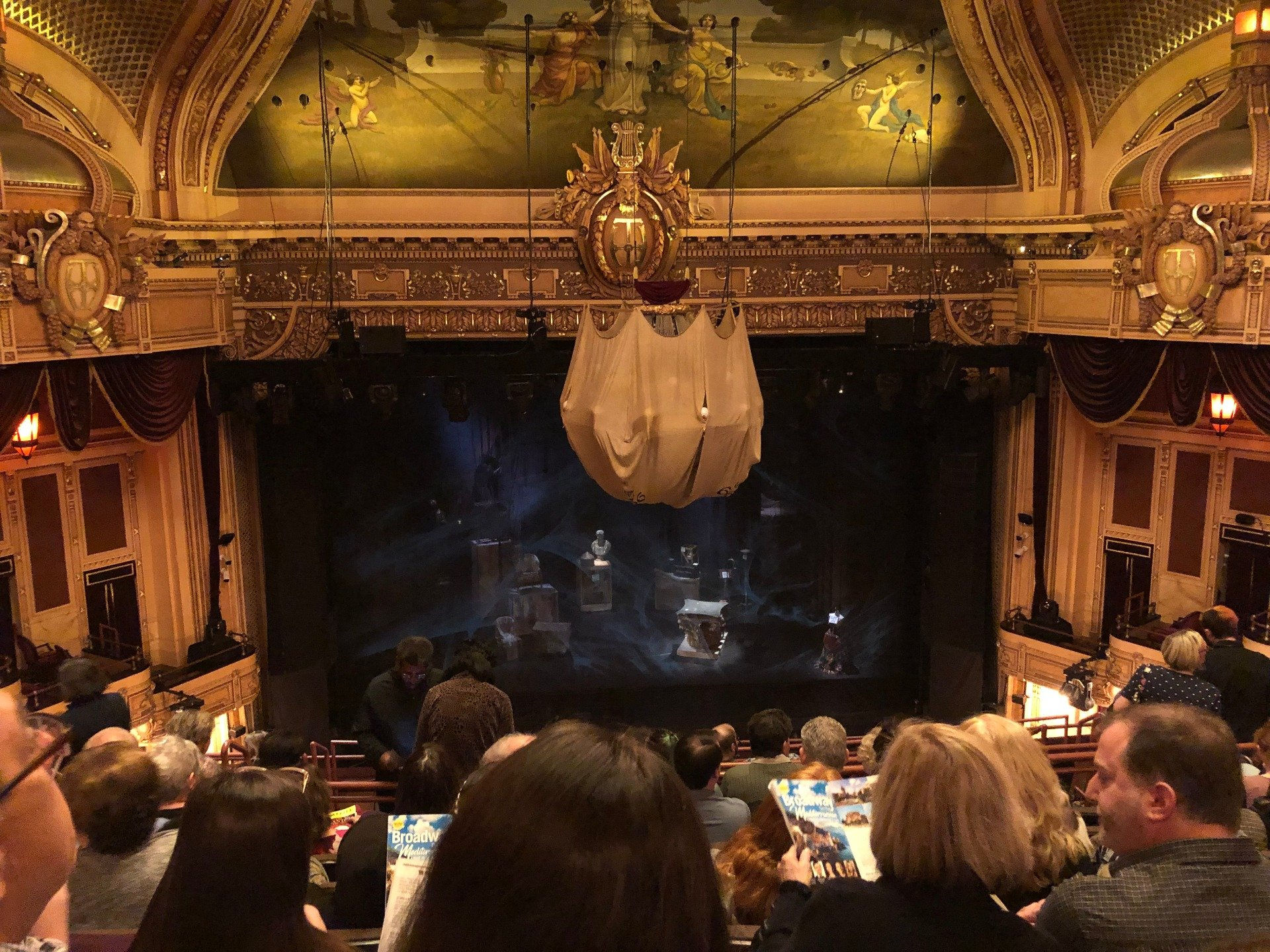 Hippodrome Theatre Section Center Middle Balcony Row K Seat 308