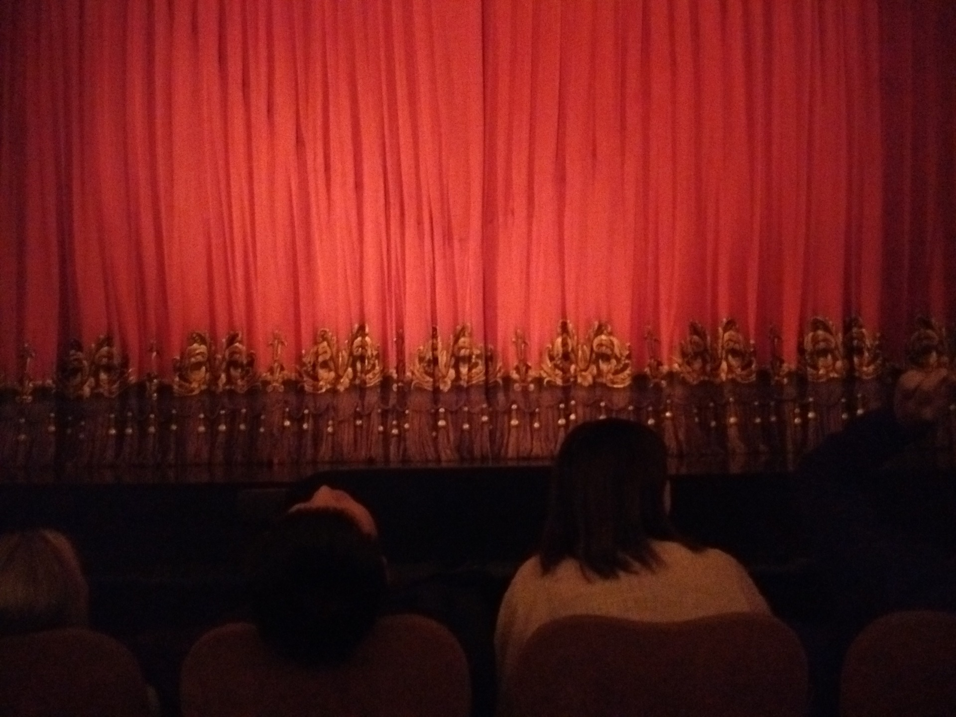 Majestic Theatre Section Orchestra C Row B Seat 108