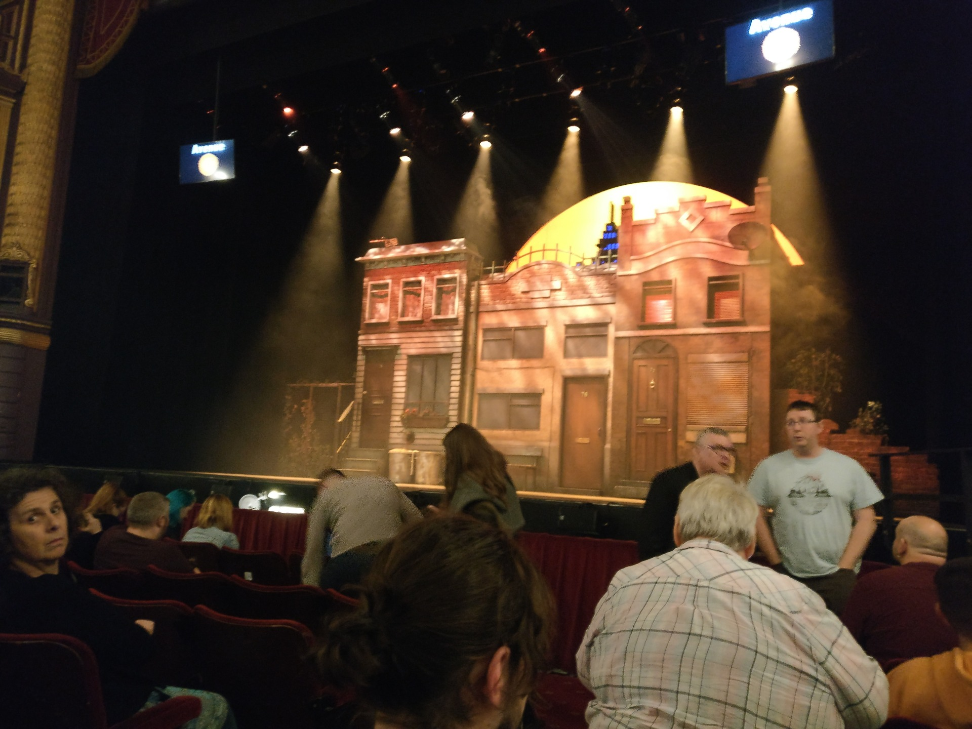 Palace Theatre (Manchester) Section Stalls Row D Seat 14