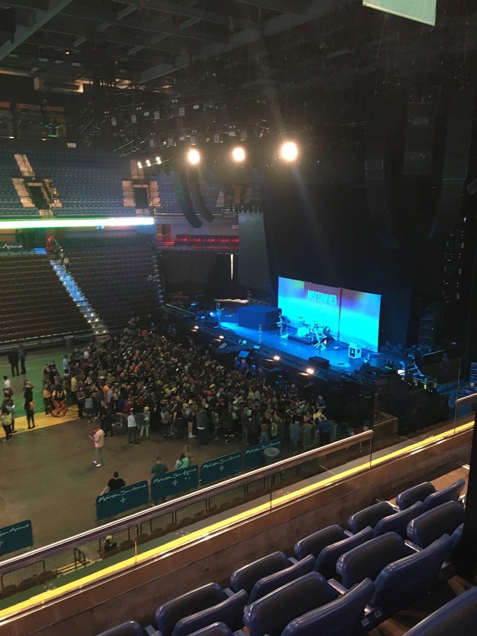 Mohegan Sun Arena Section 107 Row D Seat 6