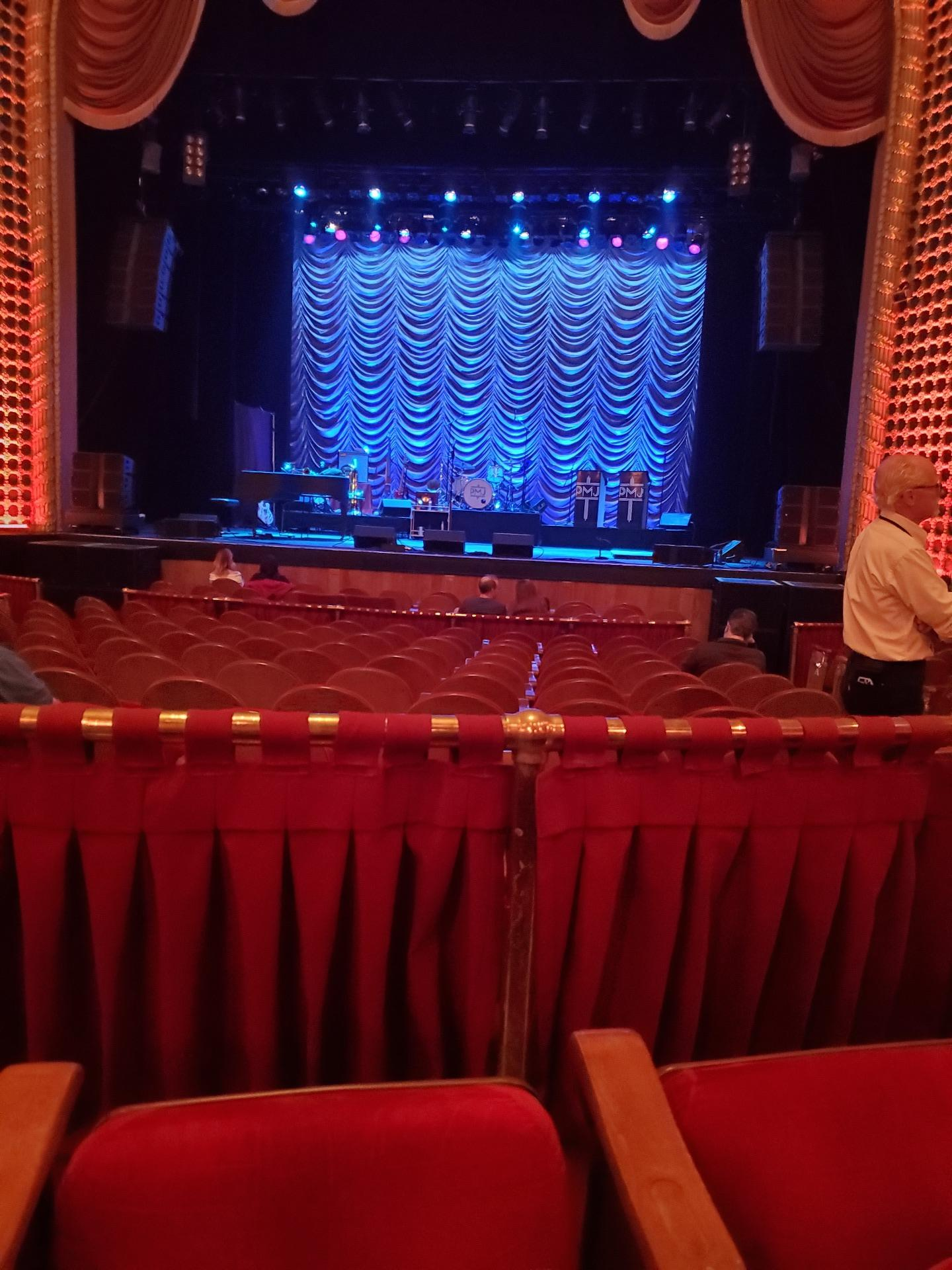 Pabst Theater Section 1CT Row L Seat 11