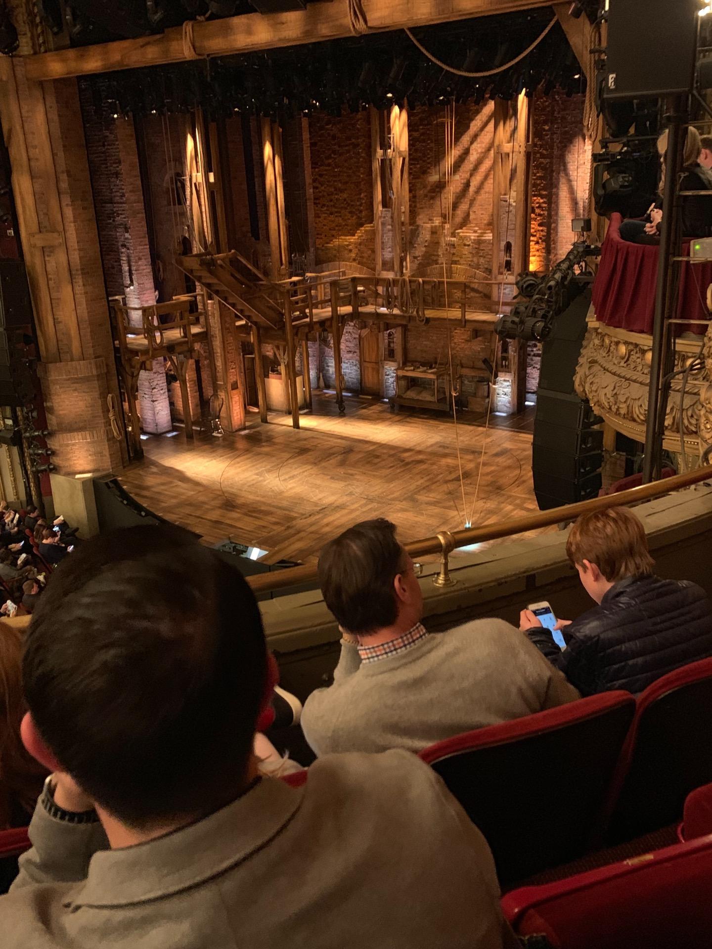 CIBC Theatre Section Balcony R Row C Seat 18